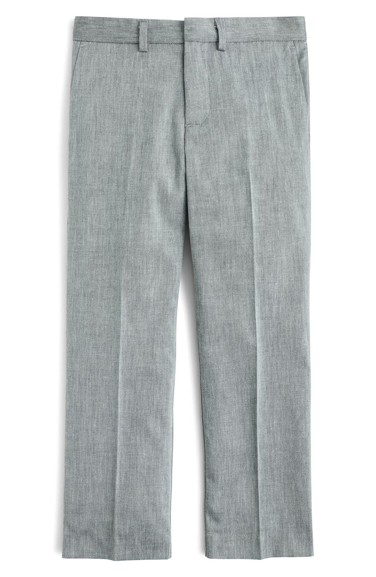 Ludlow Suit Pants,                             Main thumbnail 1, color,                             Light Grey