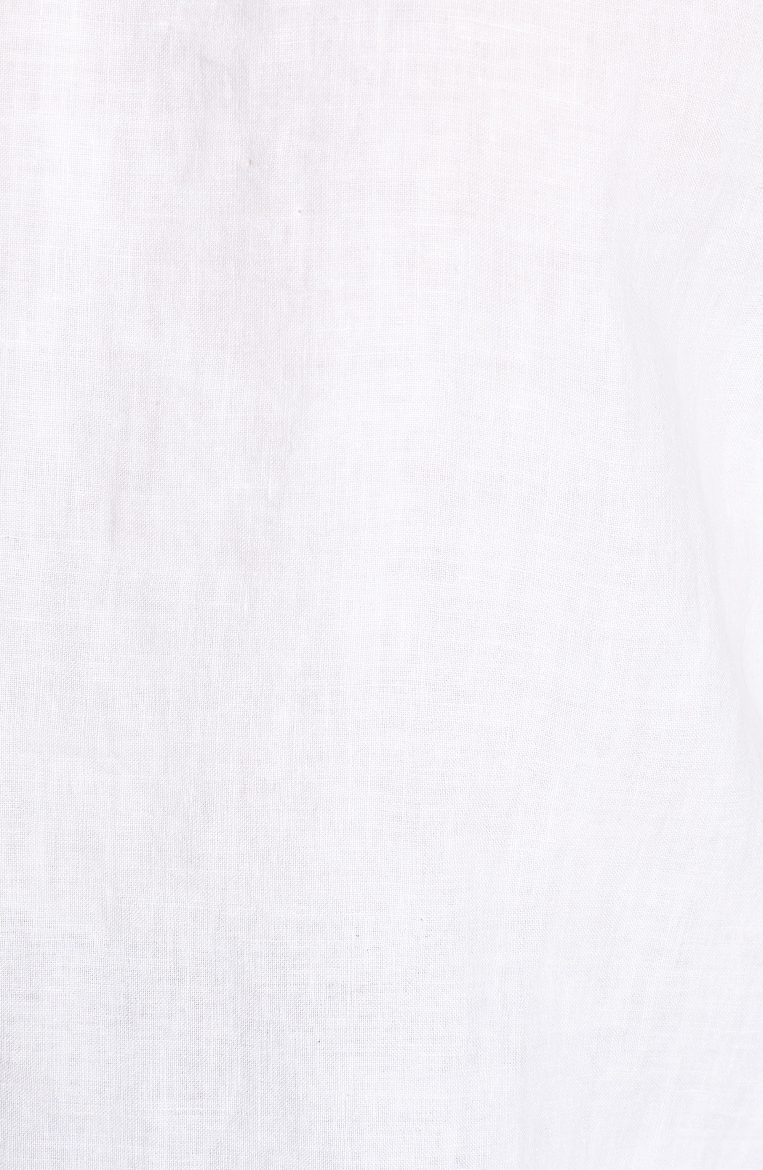 Piha Beach Blouse,                             Alternate thumbnail 6, color,                             White