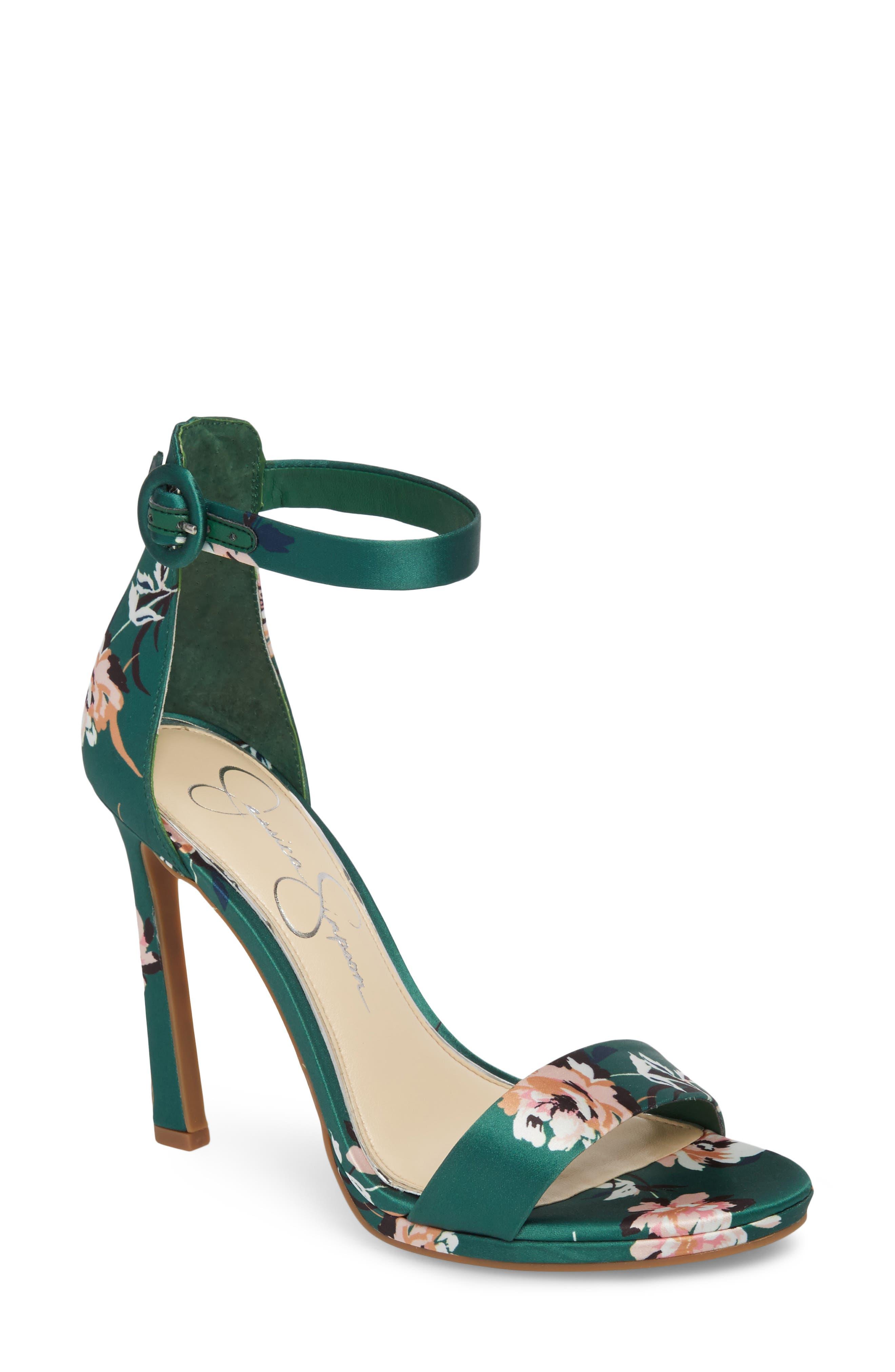 Plemy Sandal,                         Main,                         color, Emerald