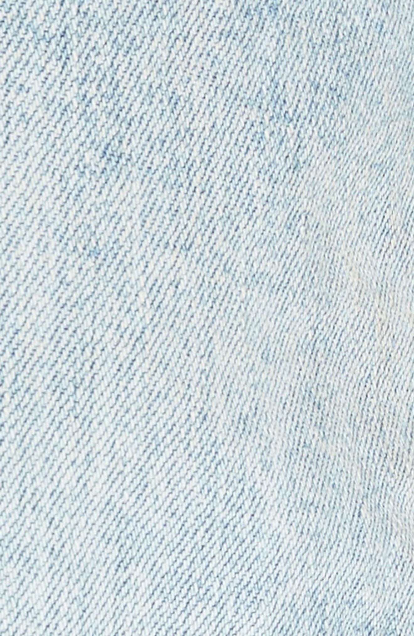 Alternate Image 5  - Free People Sashed & Relaxed Cutoff Denim Shorts