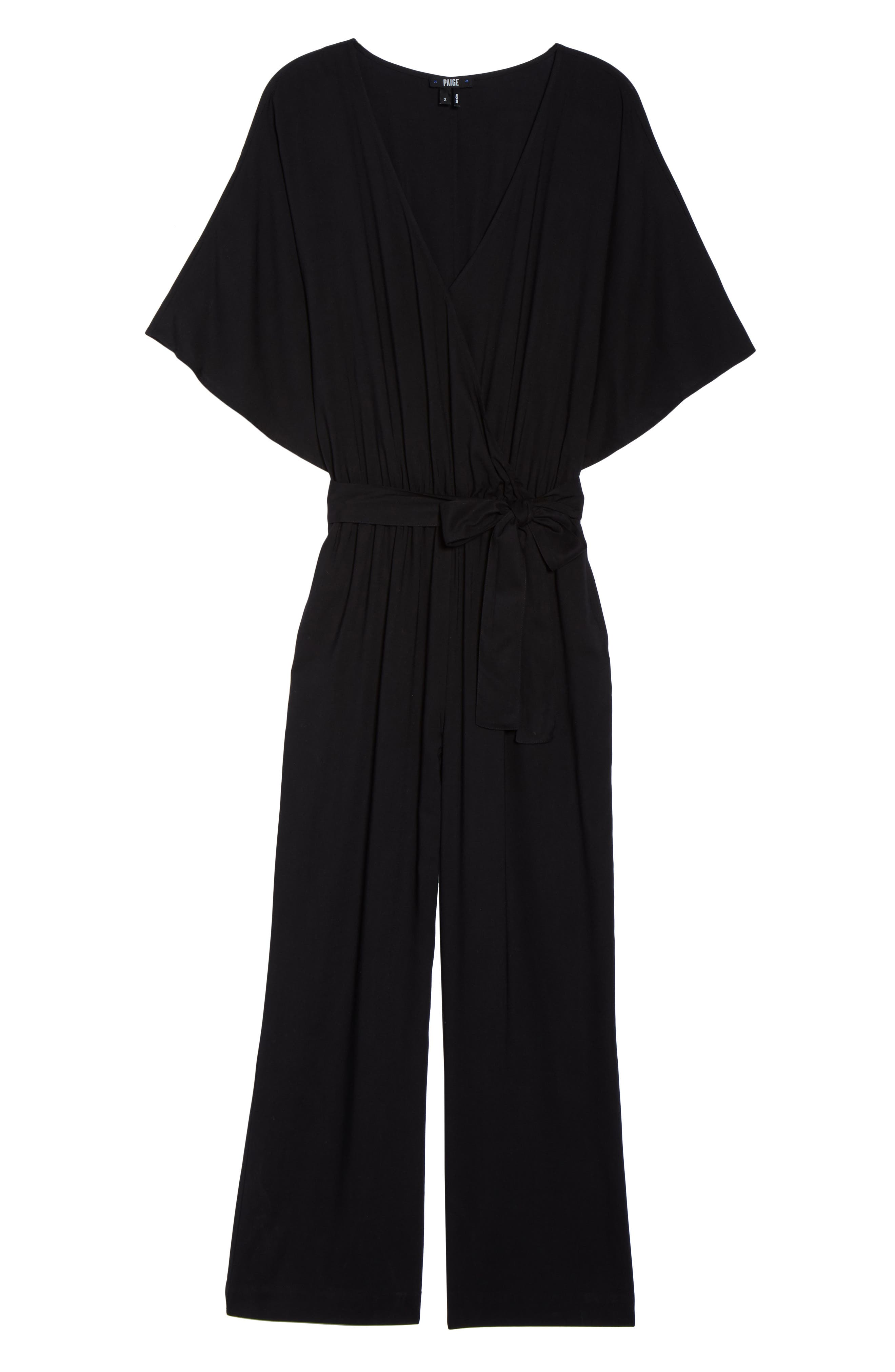 Vanette Jumpsuit,                             Alternate thumbnail 7, color,                             Black