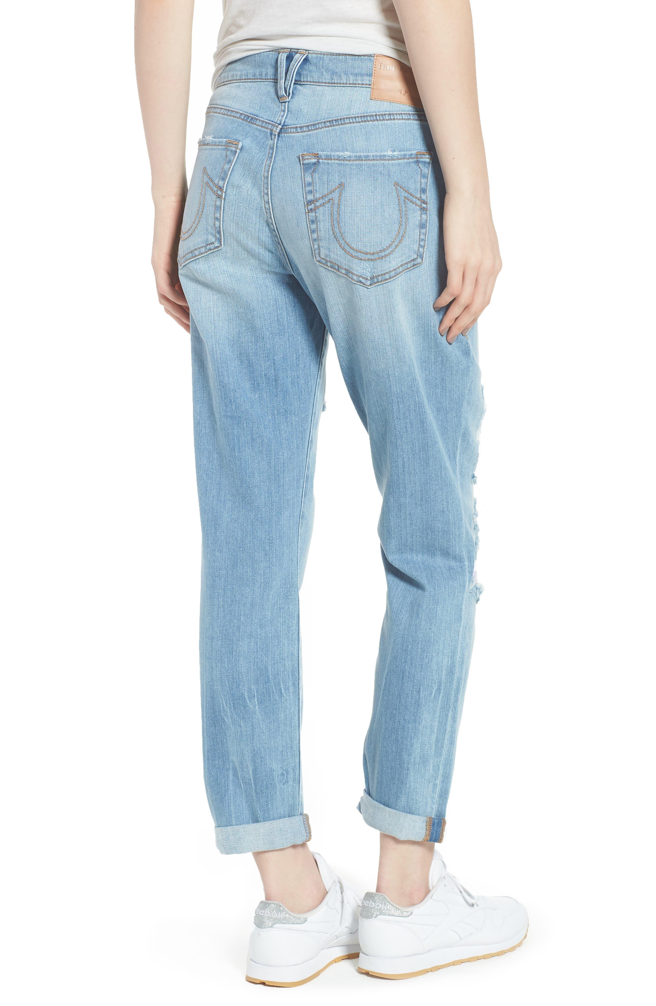 Cameron Slim Boyfriend Jeans,                             Alternate thumbnail 2, color,                             Esgl Second Quarter