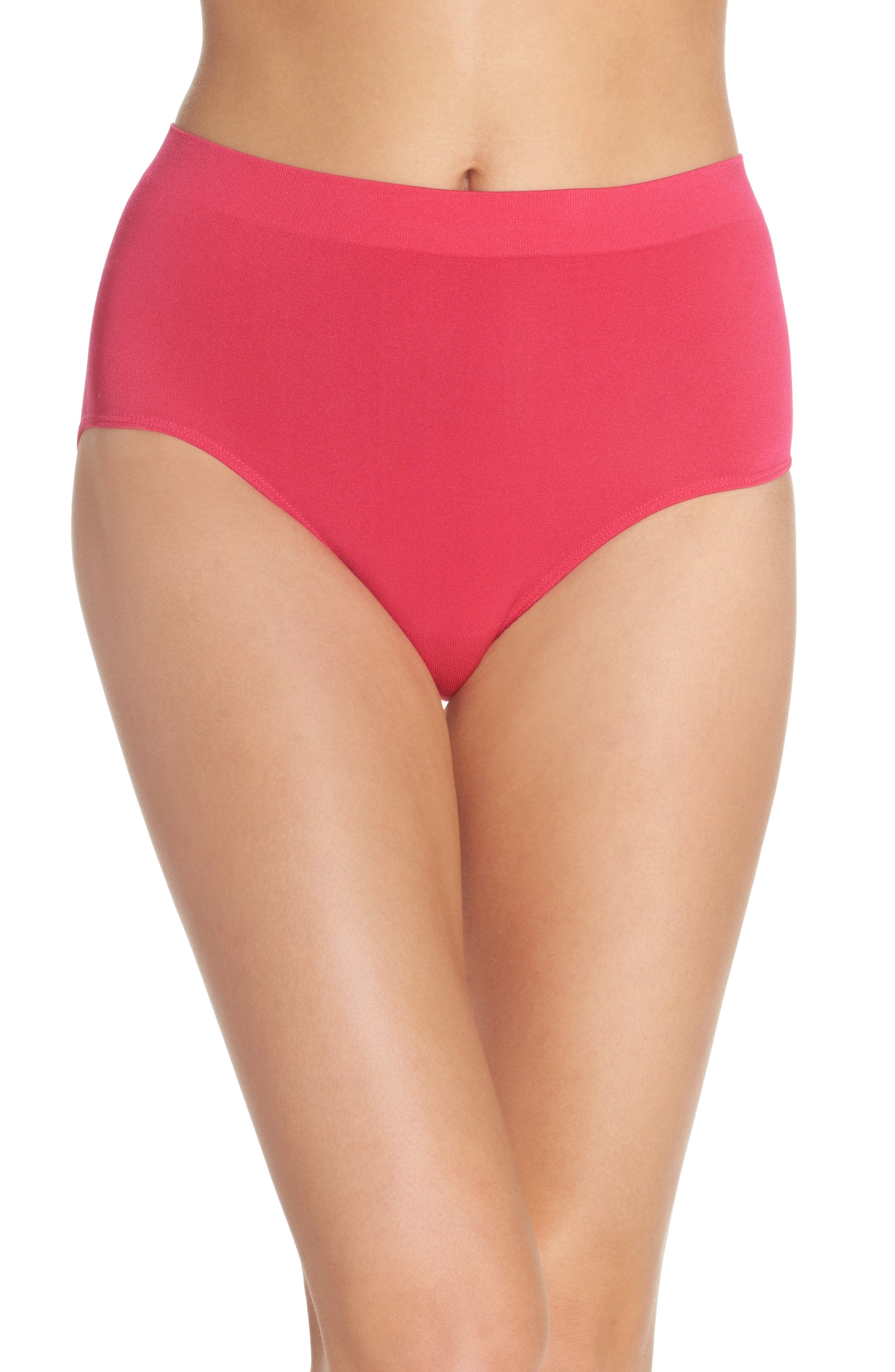 B Smooth Briefs,                         Main,                         color, Pink Peacock