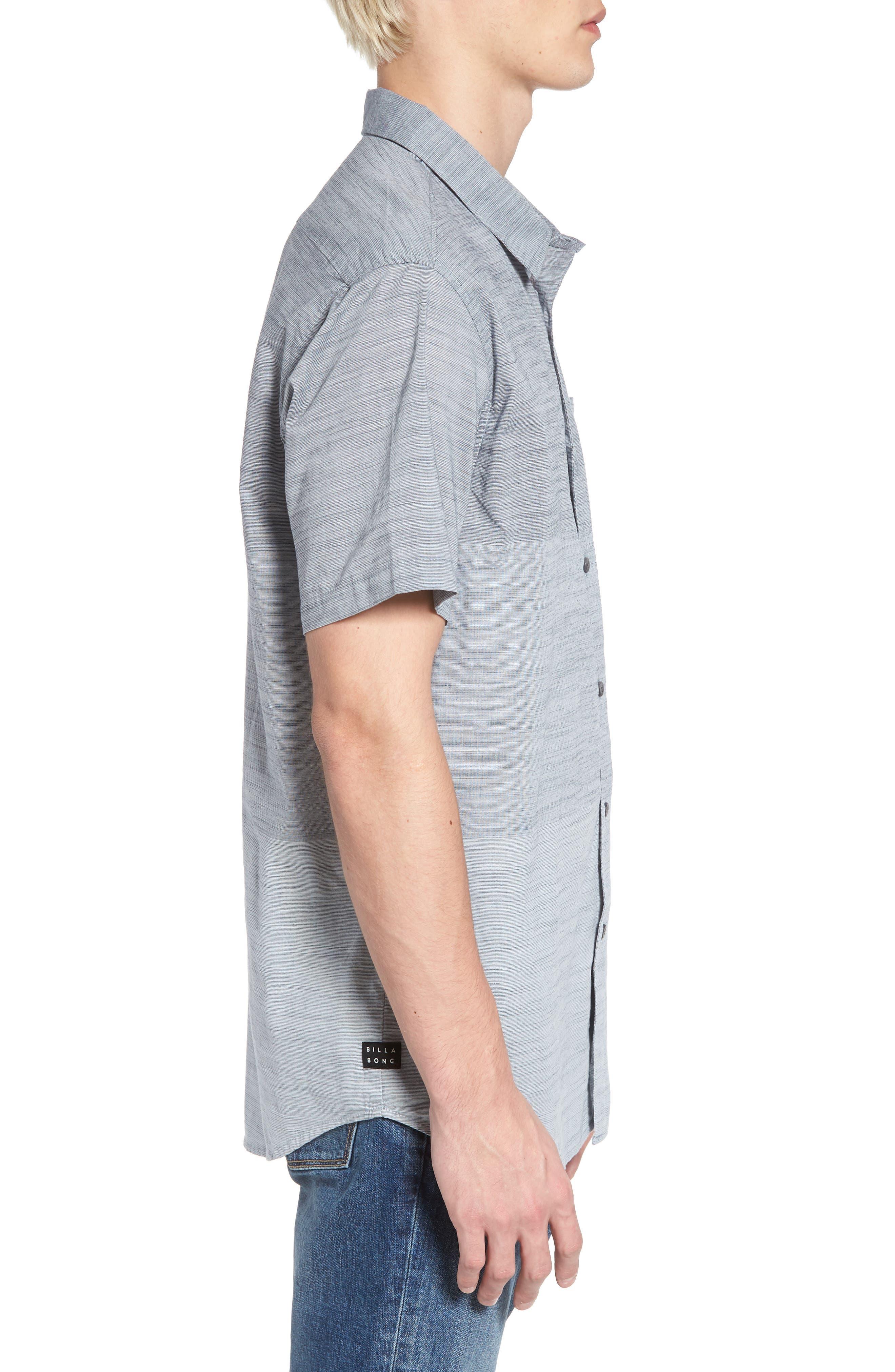 Faderade Short Sleeve Shirt,                             Alternate thumbnail 3, color,                             Blue