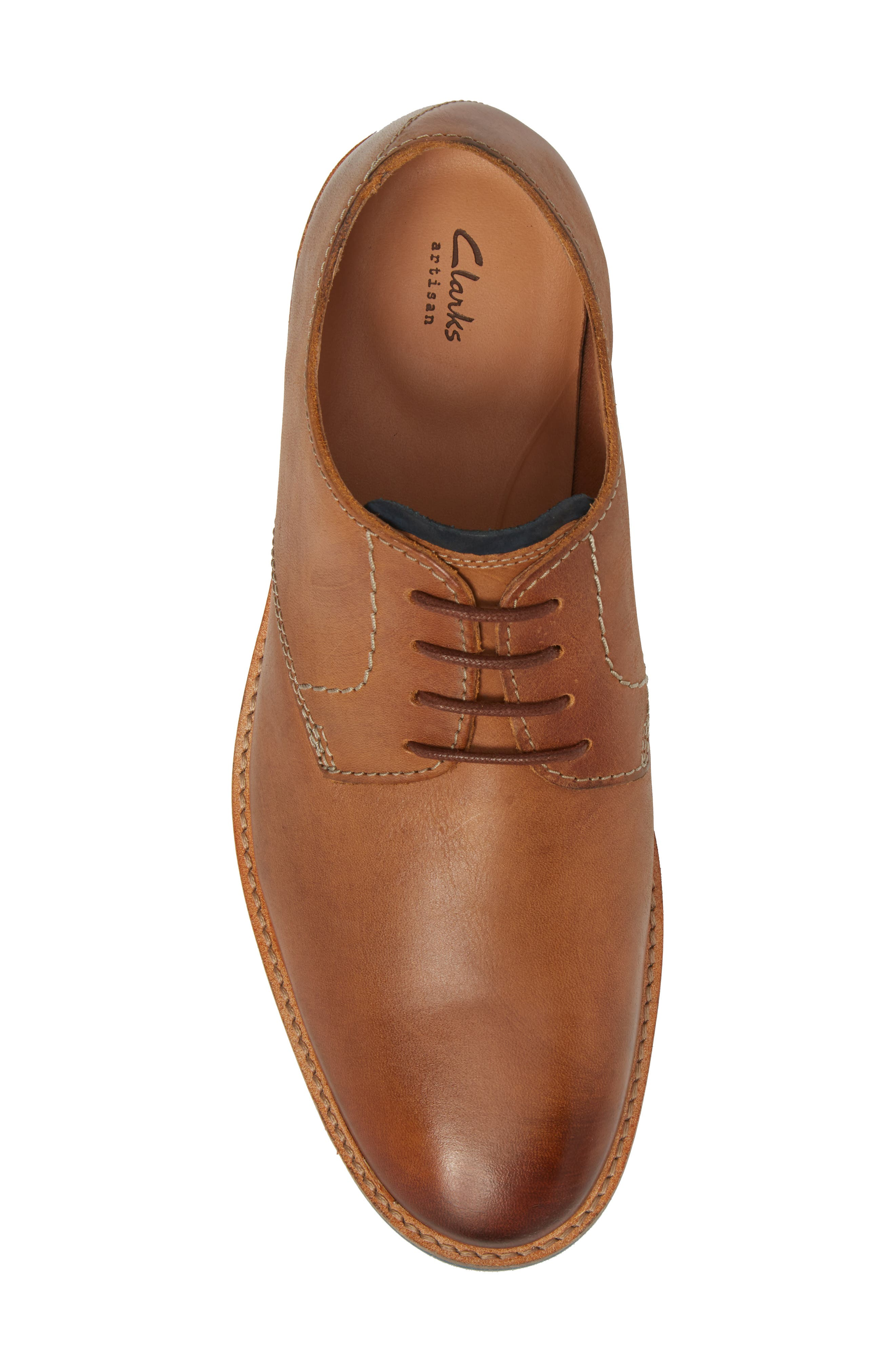 Alternate Image 5  - Clarks® Atticus Plain Toe Derby (Men)