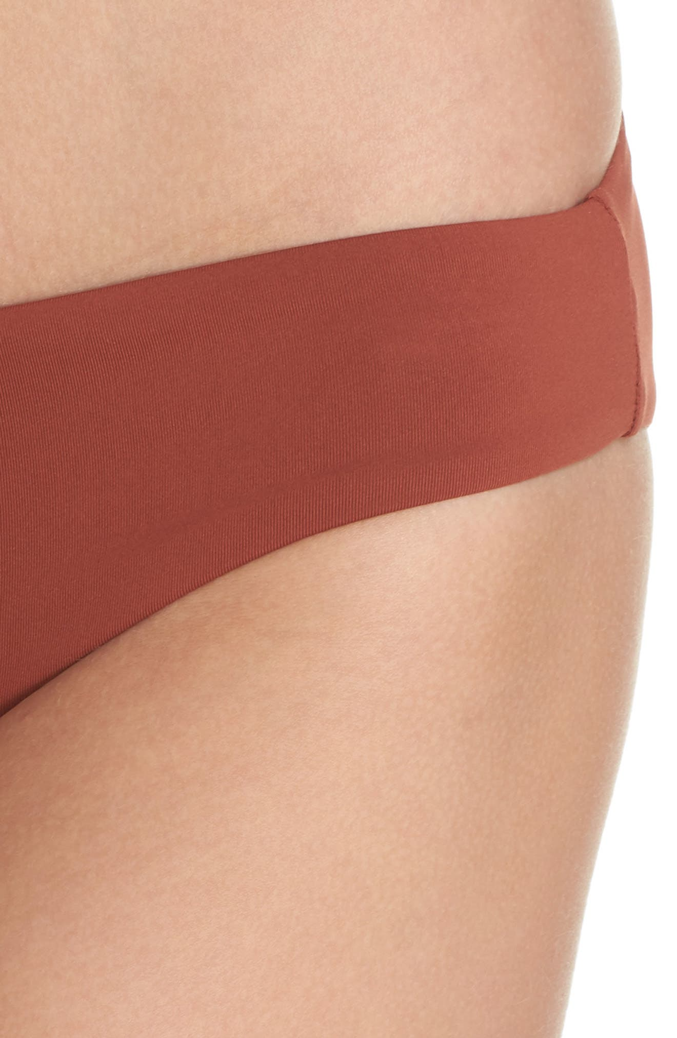 Active Bikini Bottoms,                             Alternate thumbnail 4, color,                             Burnt Amber