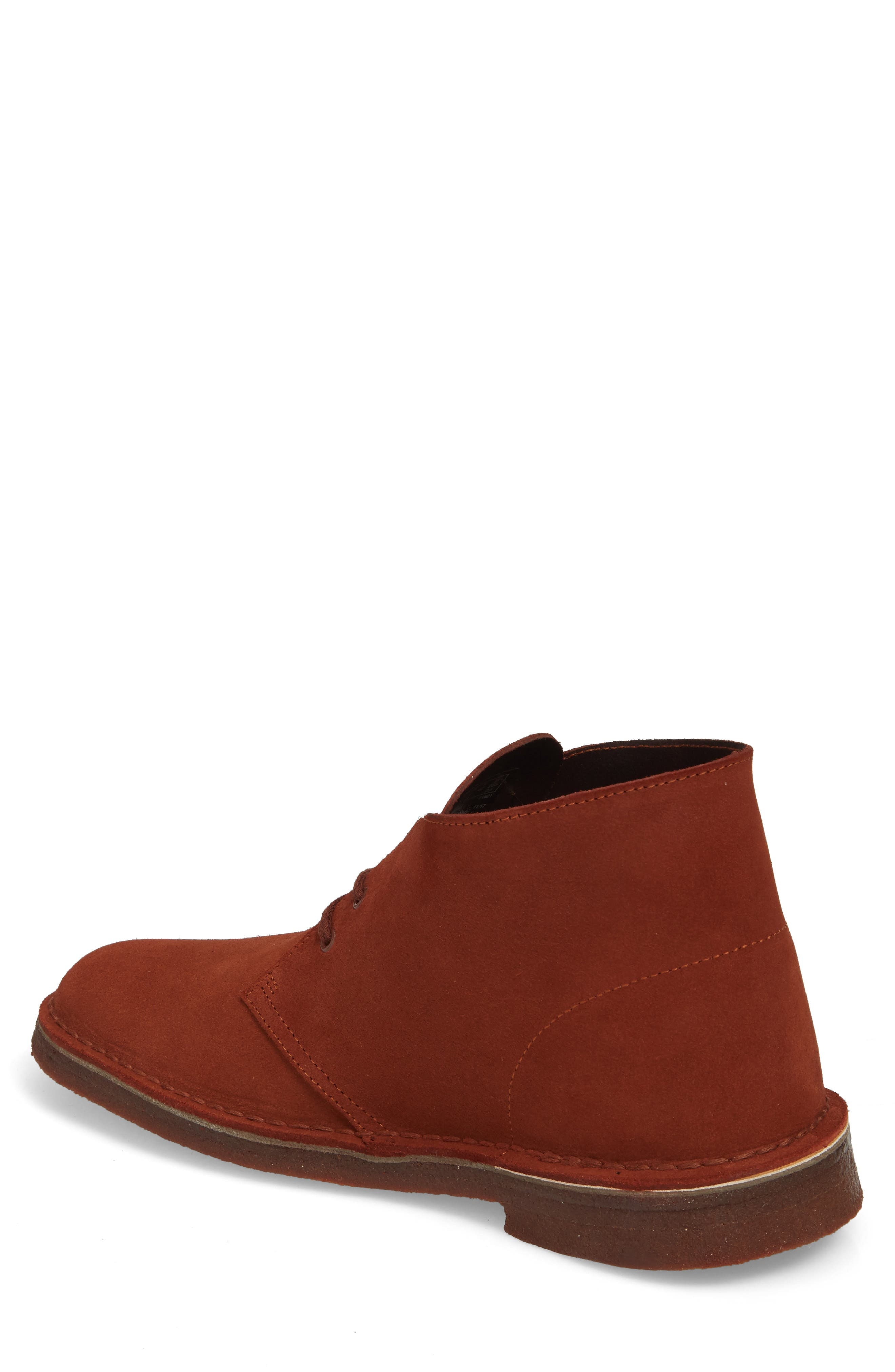 Clarks<sup>®</sup> Desert Boot,                             Alternate thumbnail 2, color,                             Mahogany Leather
