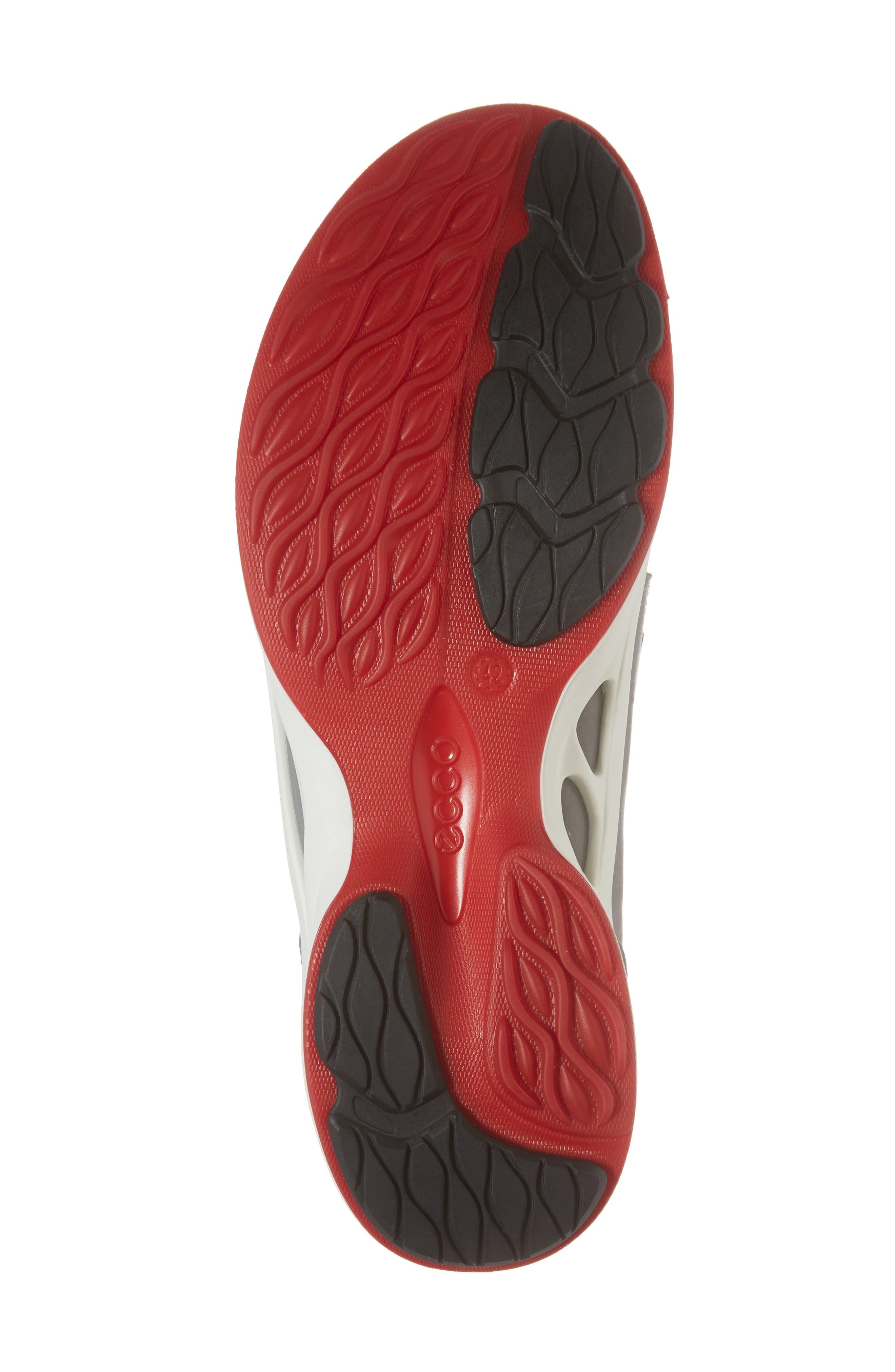 BIOM Fjuel Band Sneaker,                             Alternate thumbnail 6, color,                             Dark Shadow/ Titanium Leather