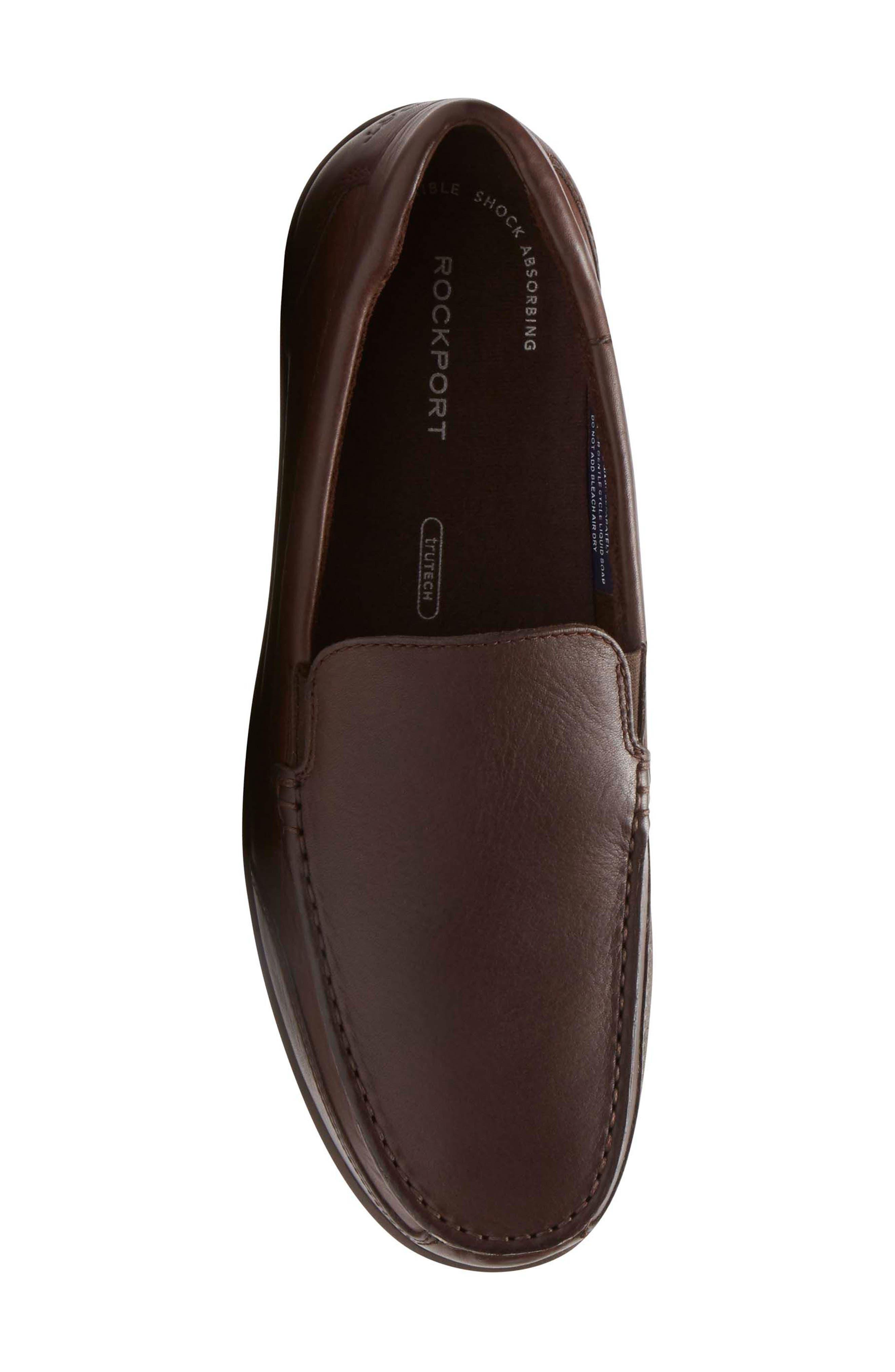 Bennett Lane Slip-On,                             Alternate thumbnail 2, color,                             Brown Leather