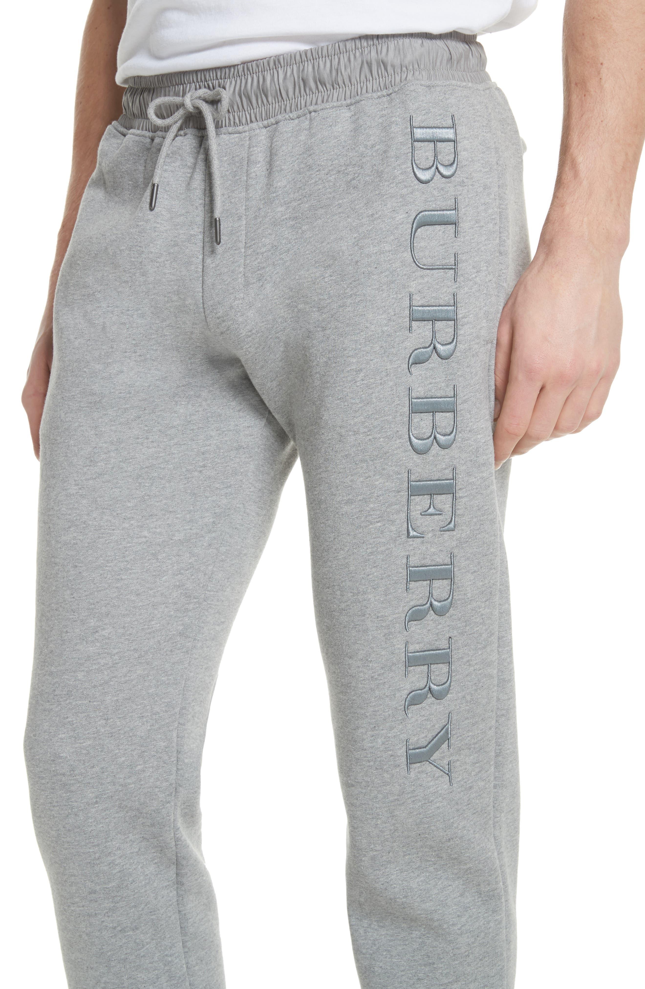 Nickford Lounge Pants,                             Alternate thumbnail 4, color,                             Pale Grey Melange