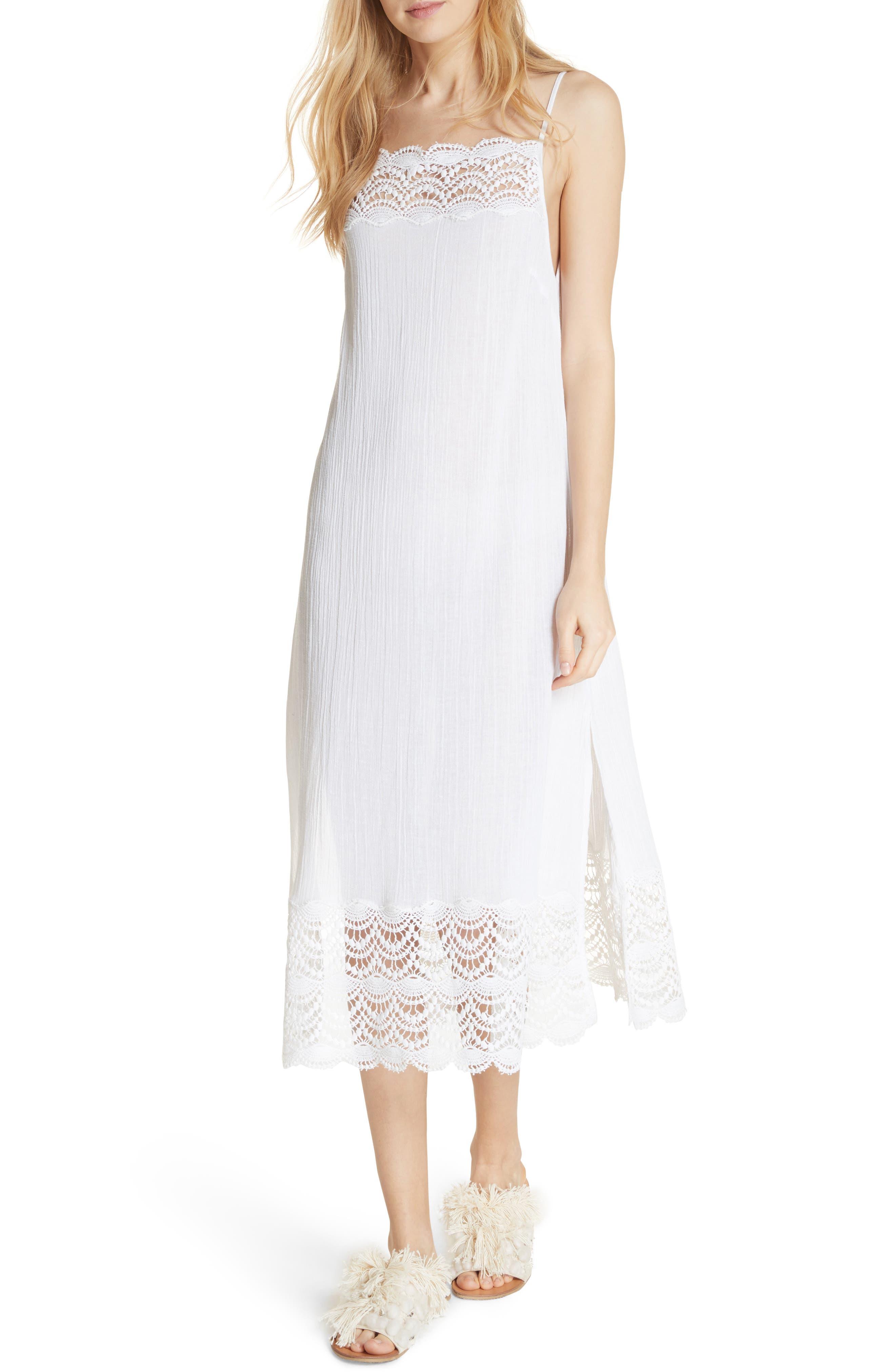 Free People Abbie Crinkle Maxi Dress
