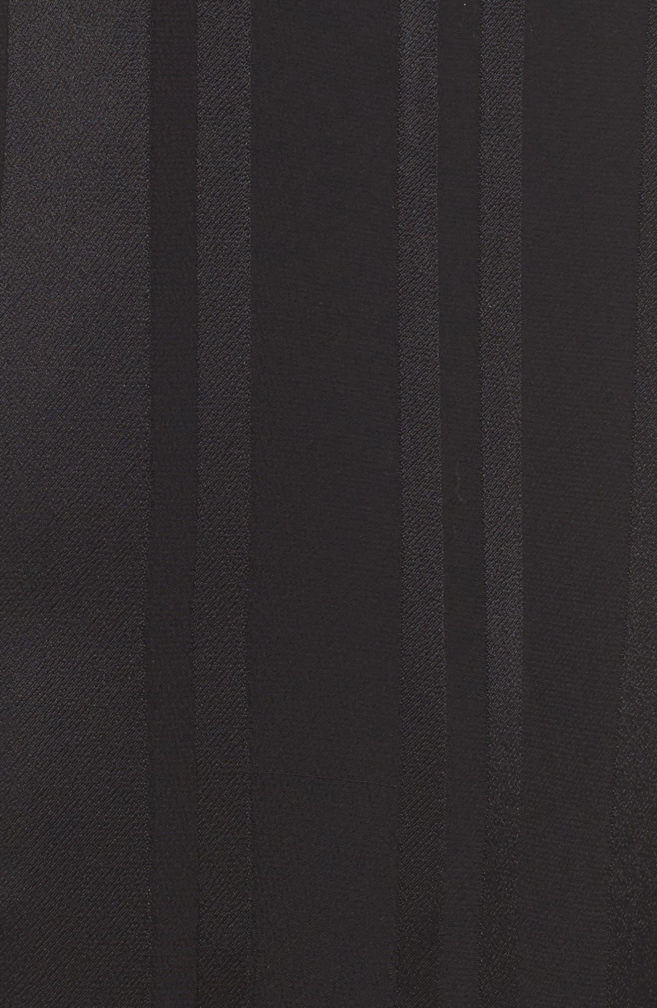 Vela Stripe Lounge Pants,                             Alternate thumbnail 6, color,                             Tar