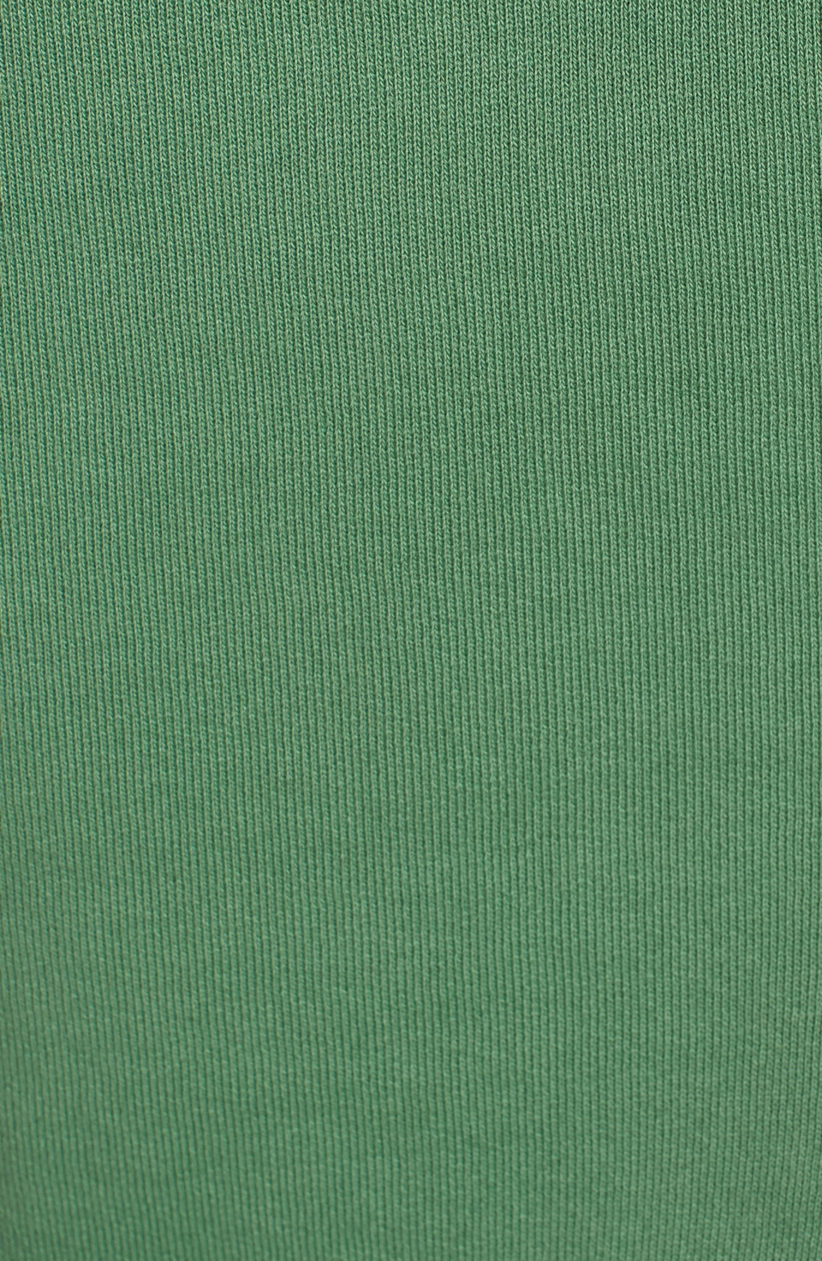 Short Sleeve Pullover Hoodie,                             Alternate thumbnail 6, color,                             Envied 5 Year Vintage Wash