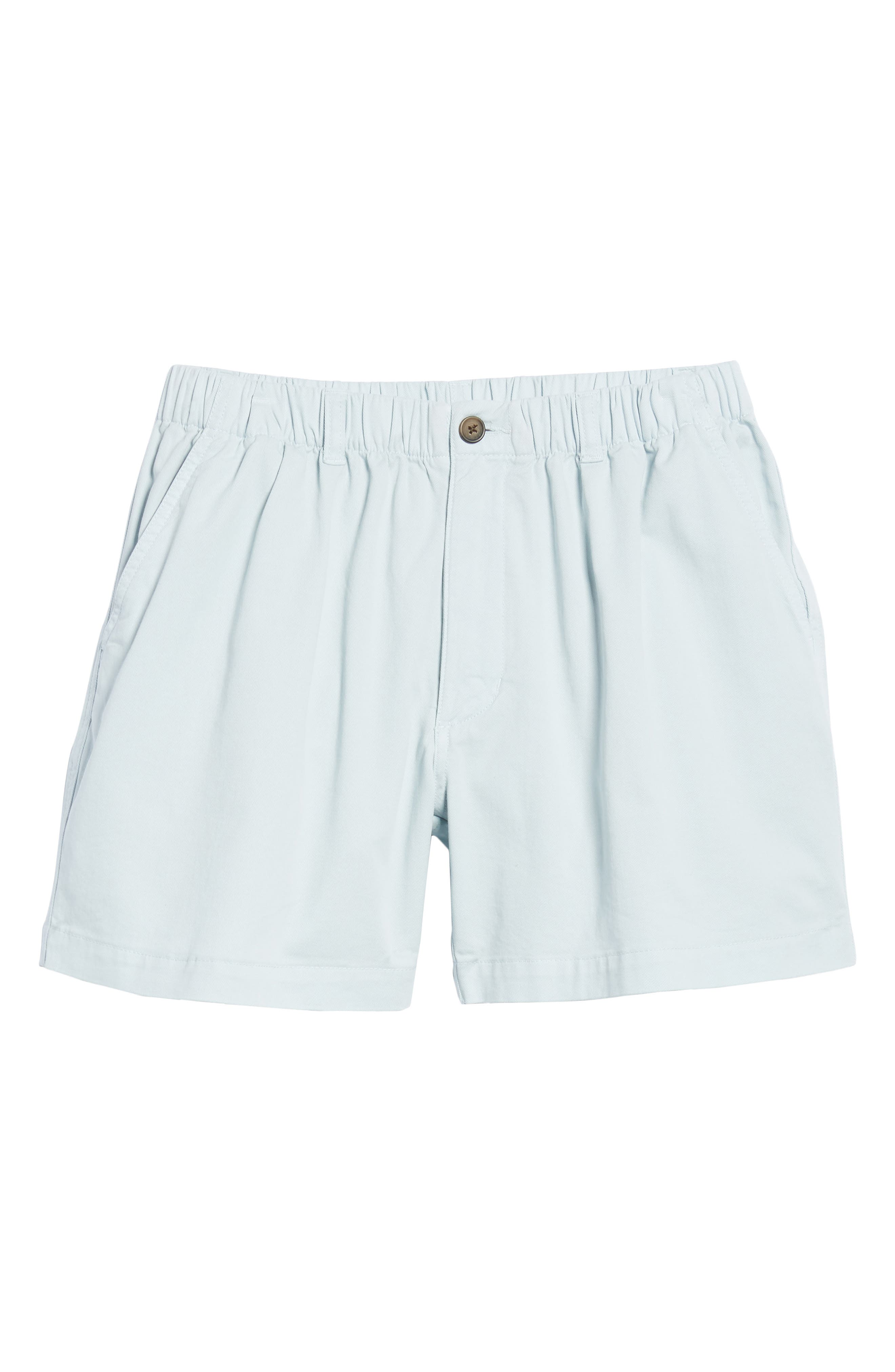 Snappers Elastic Waist 5.5 Inch Stretch Shorts,                             Alternate thumbnail 6, color,                             Sky