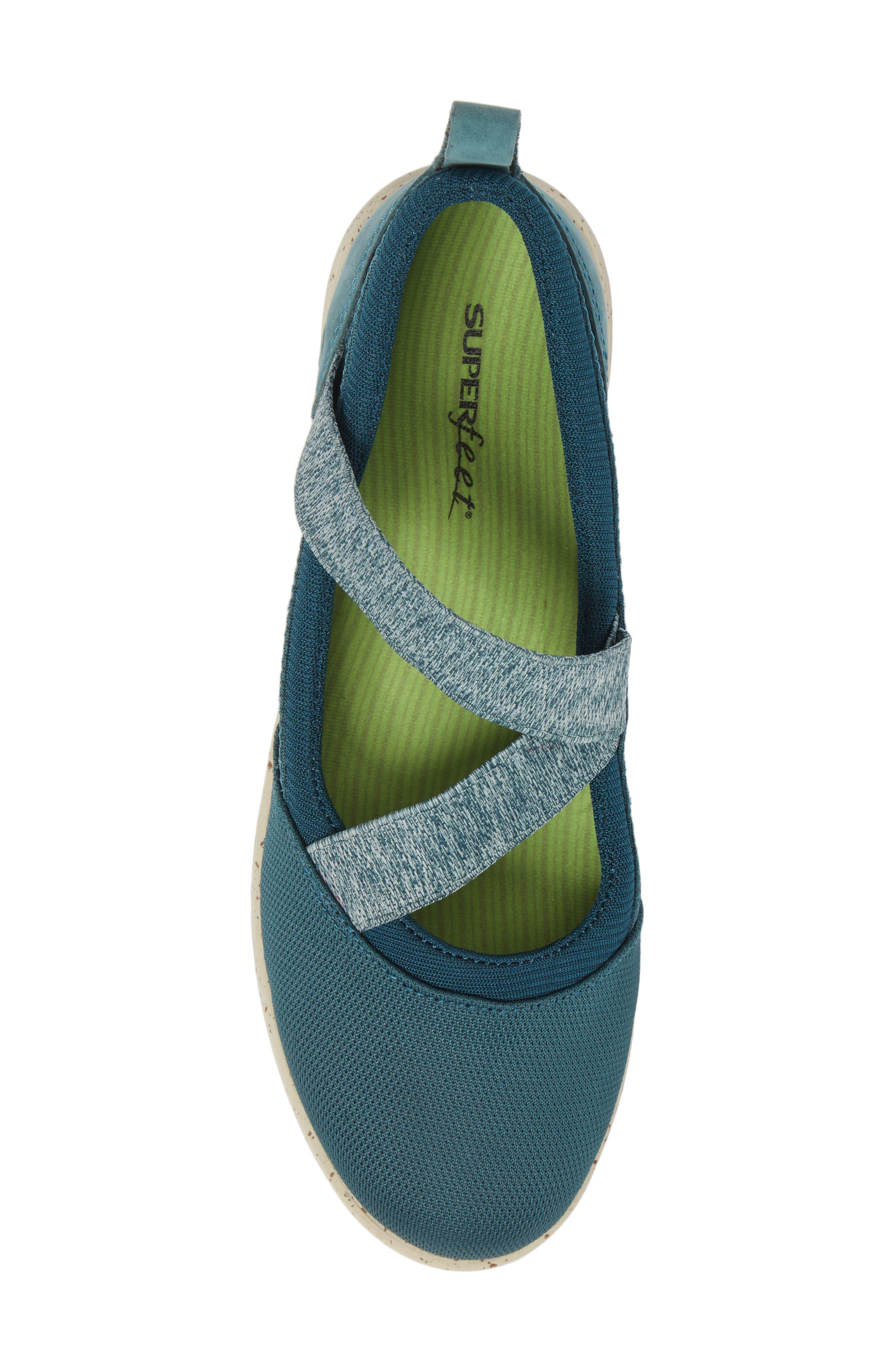 Palisade Sneaker,                             Alternate thumbnail 5, color,                             Balsam Blue Leather