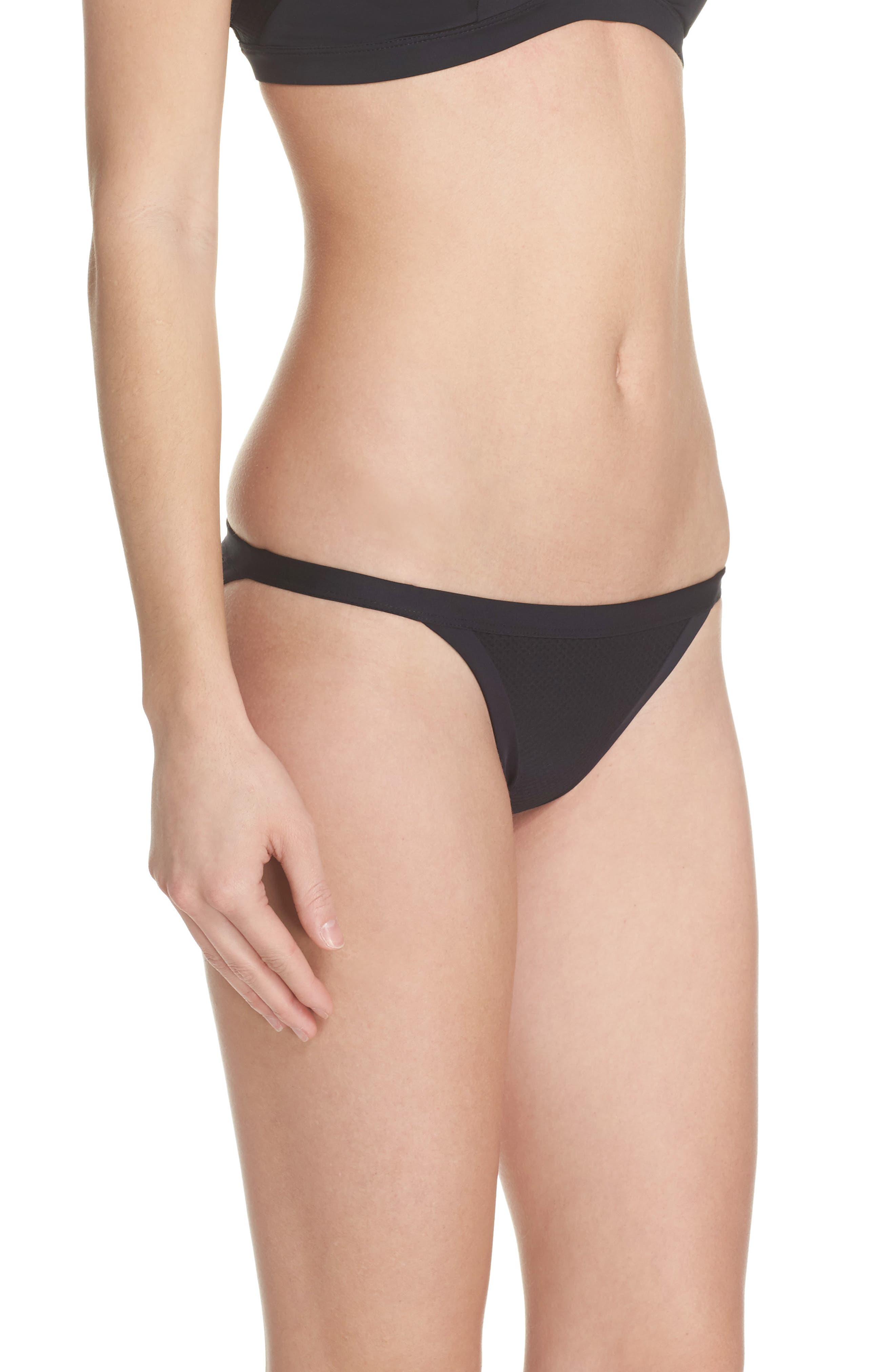 Alternate Image 3  - Hurley Quick Dry Mesh Bikini Bottoms