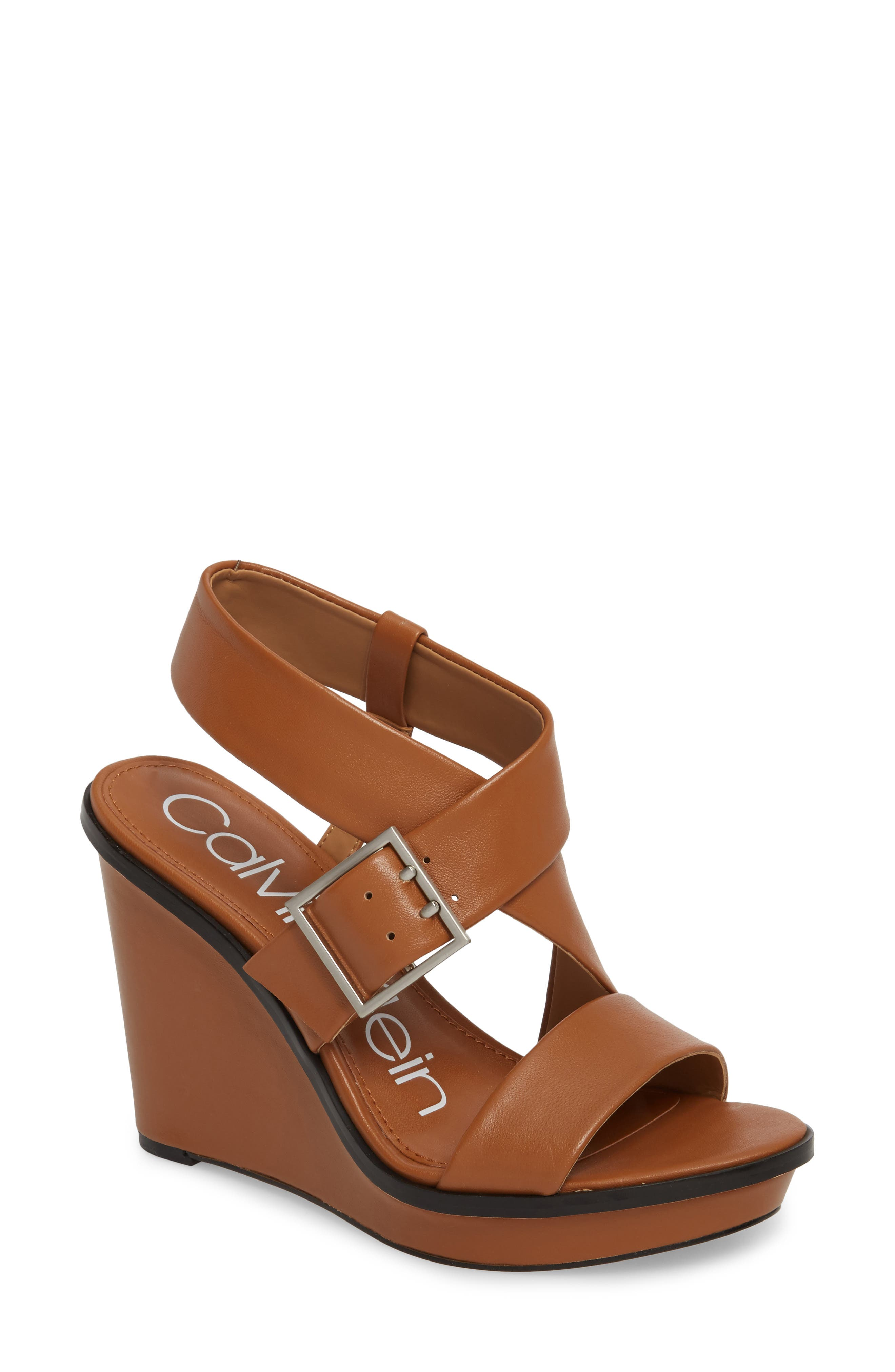 Calvin Klein Palma Wedge Sandal (Women)