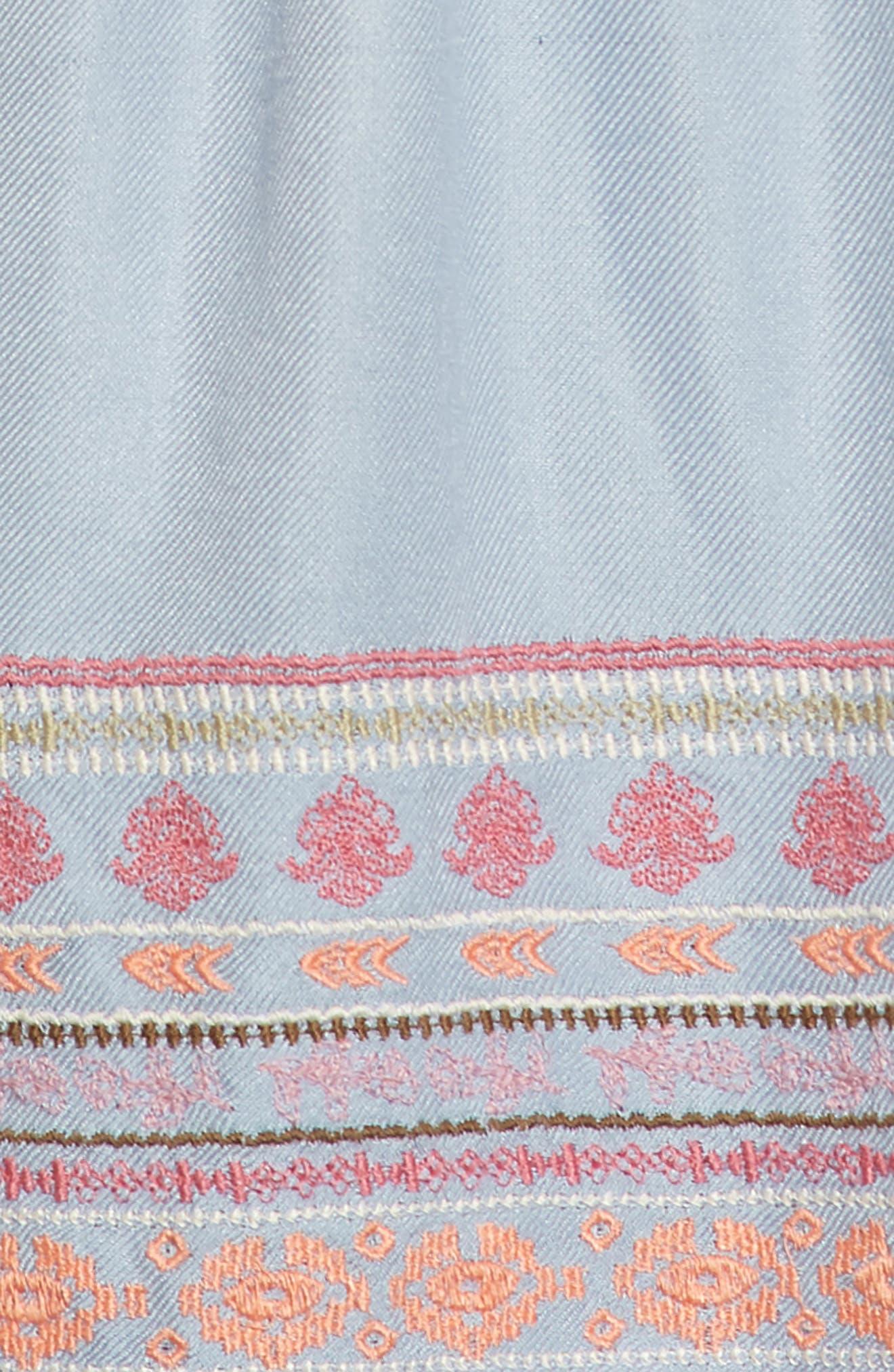 Dani Dress,                             Alternate thumbnail 3, color,                             Bleached Periwinkle