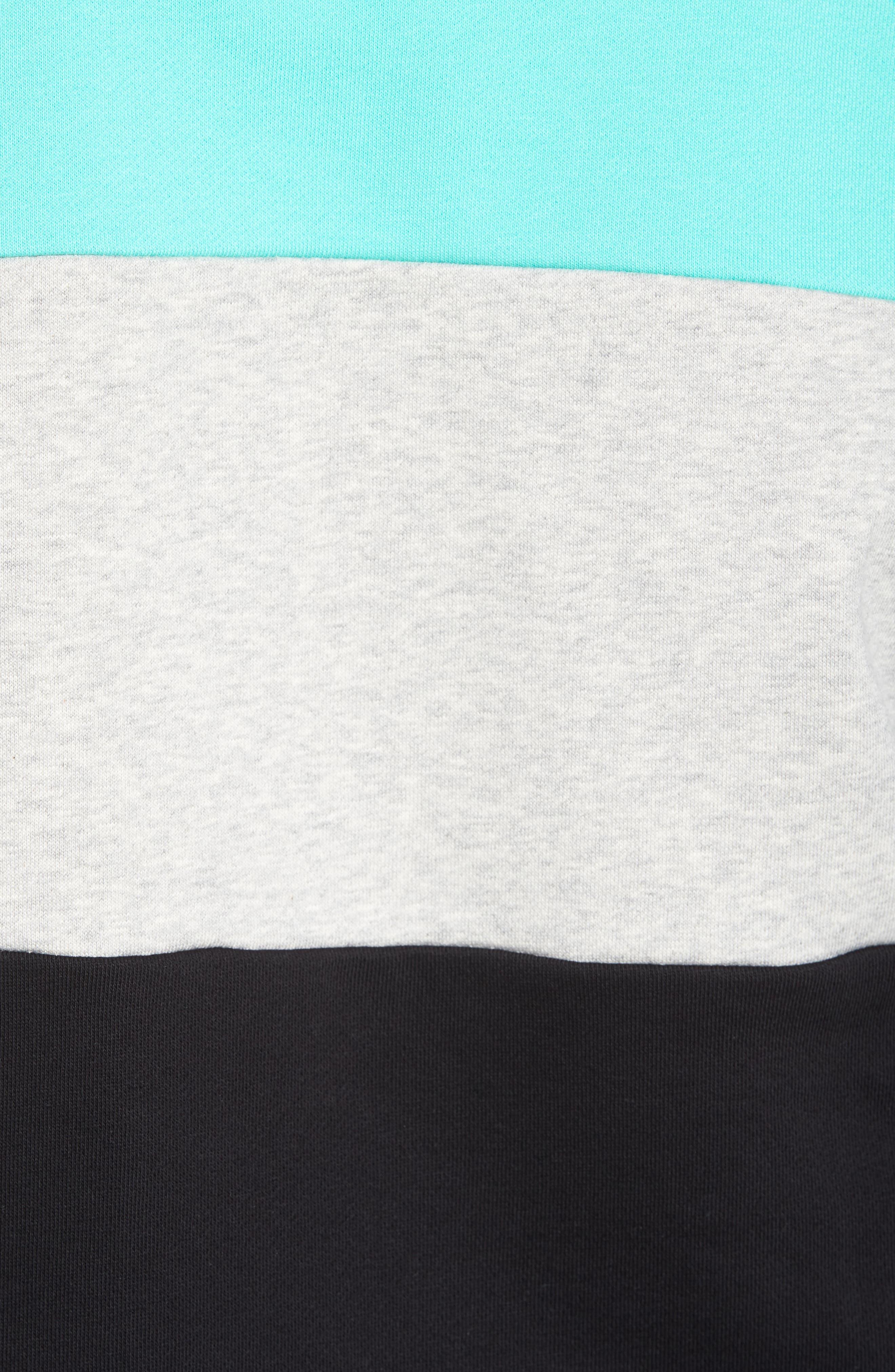 Layton Sweatshirt,                             Alternate thumbnail 5, color,                             Black/ Cockatoo/ Grey Marl