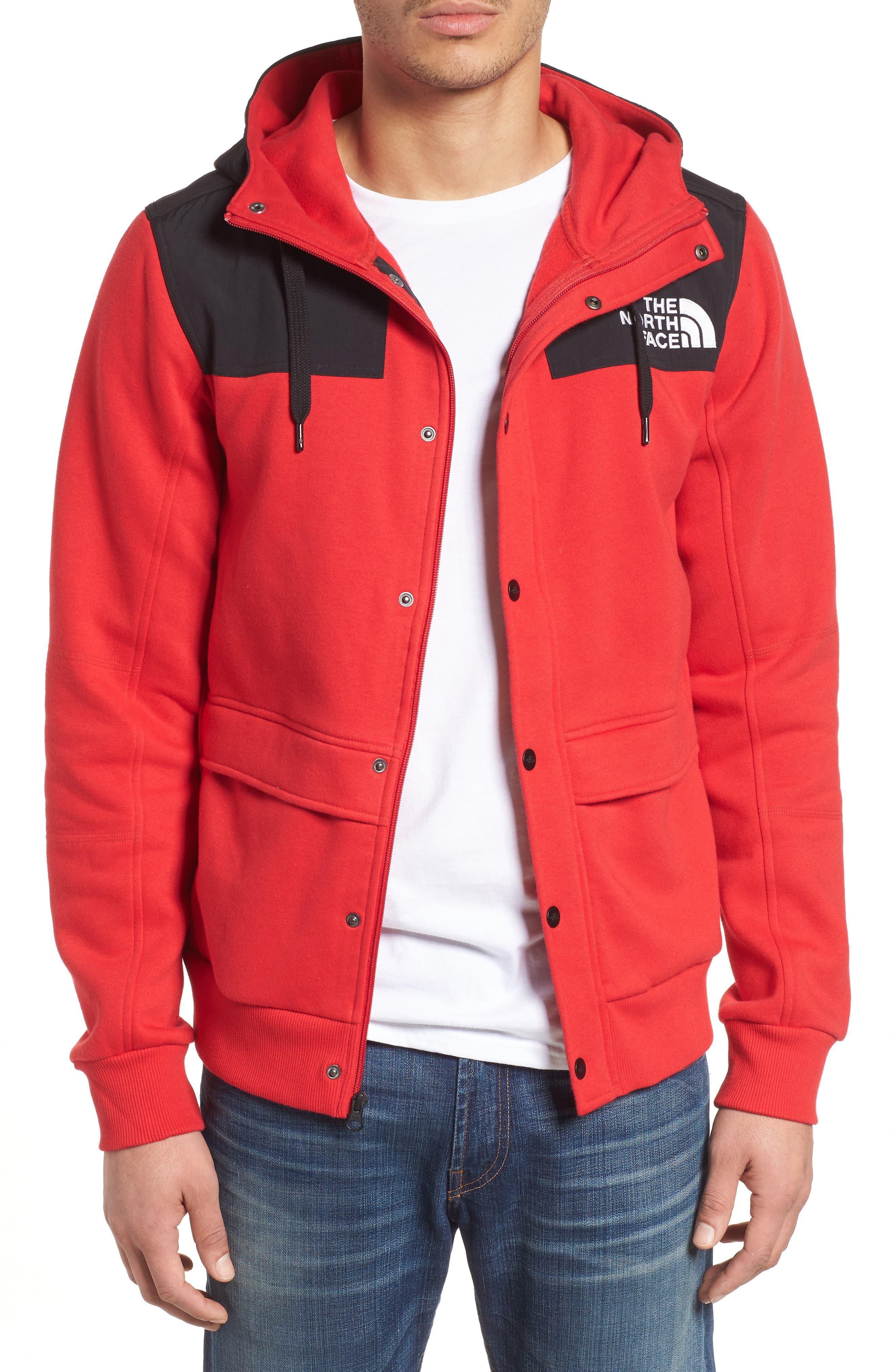 Rivington II Hooded Jacket,                             Main thumbnail 1, color,                             Red