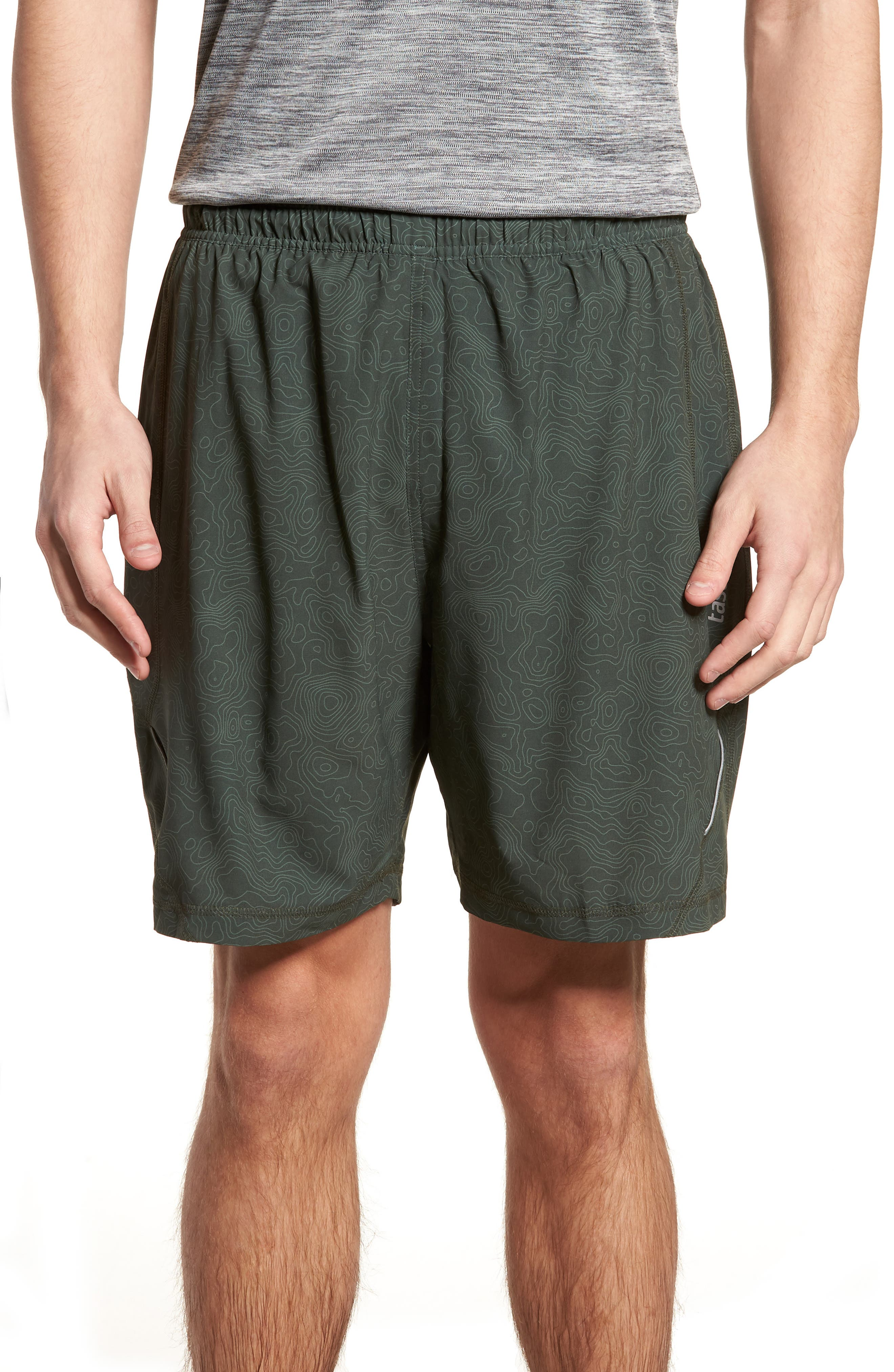 Propulsion Athletic Shorts,                             Main thumbnail 1, color,                             Topography