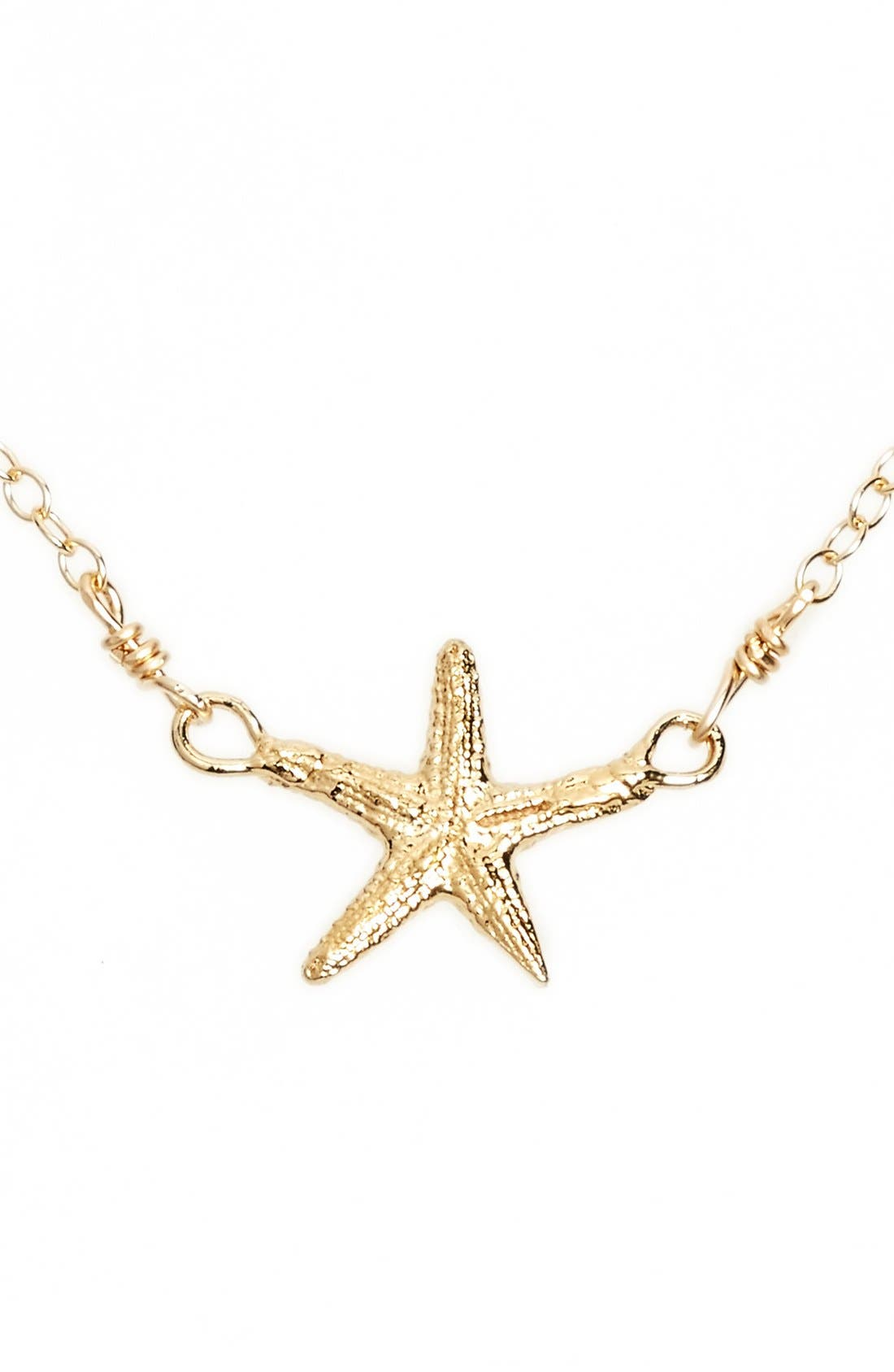 Alternate Image 1 Selected - ki-ele 'Manini' Starfish Pendant Necklace