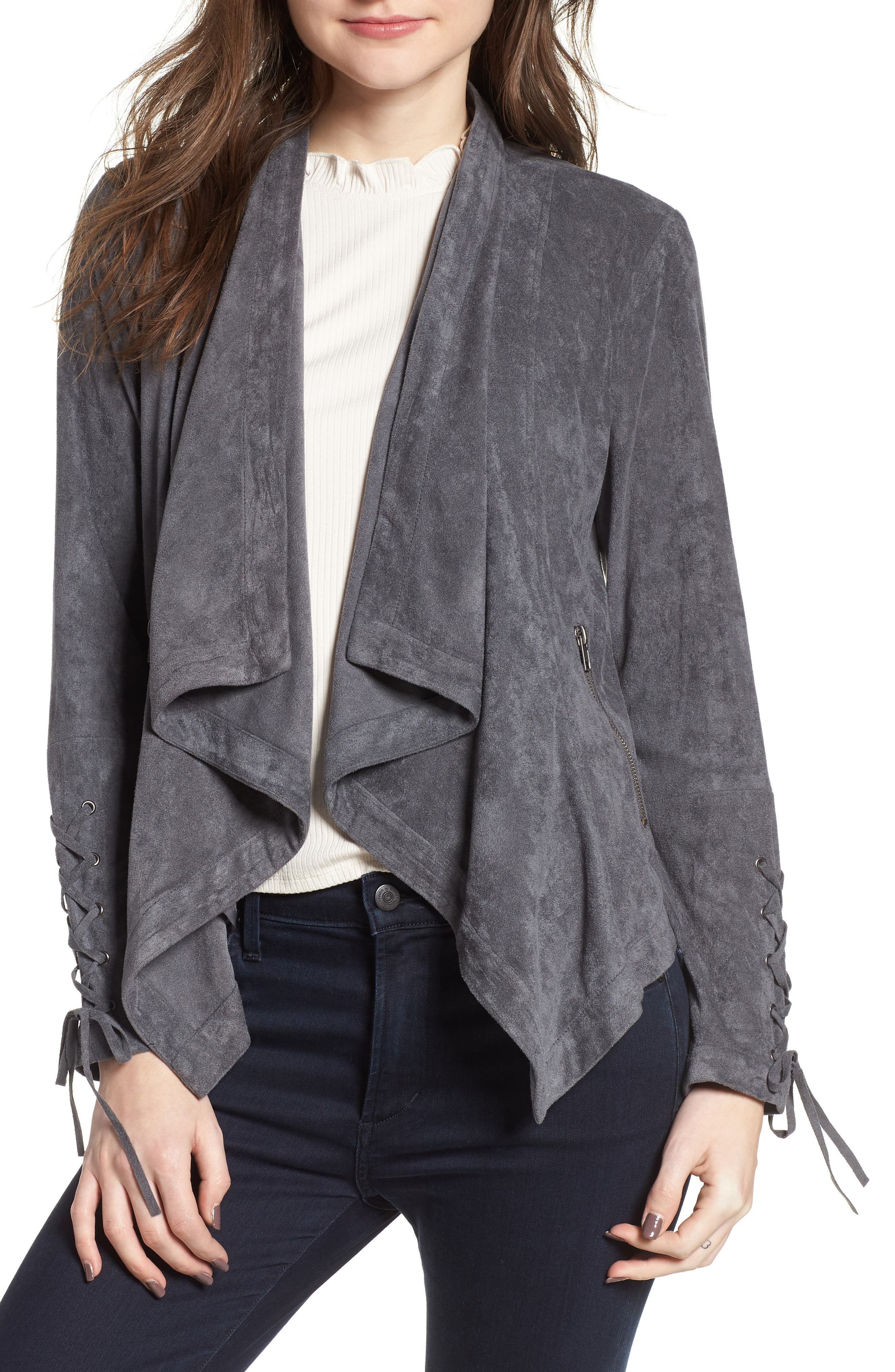 cupcakes and cashmere Brislin Drape Jacket
