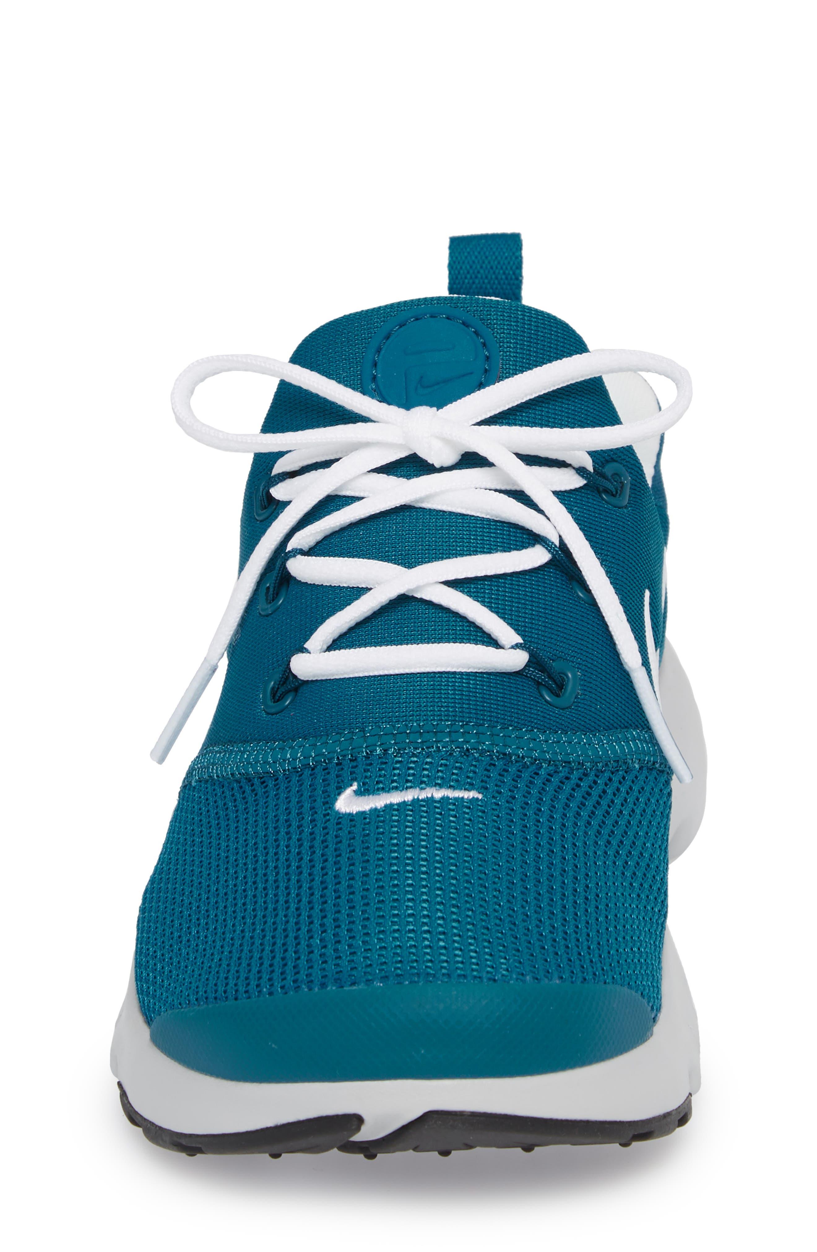 Presto Fly Sneaker,                             Alternate thumbnail 4, color,                             Green Abyss/ Platinum/ Black