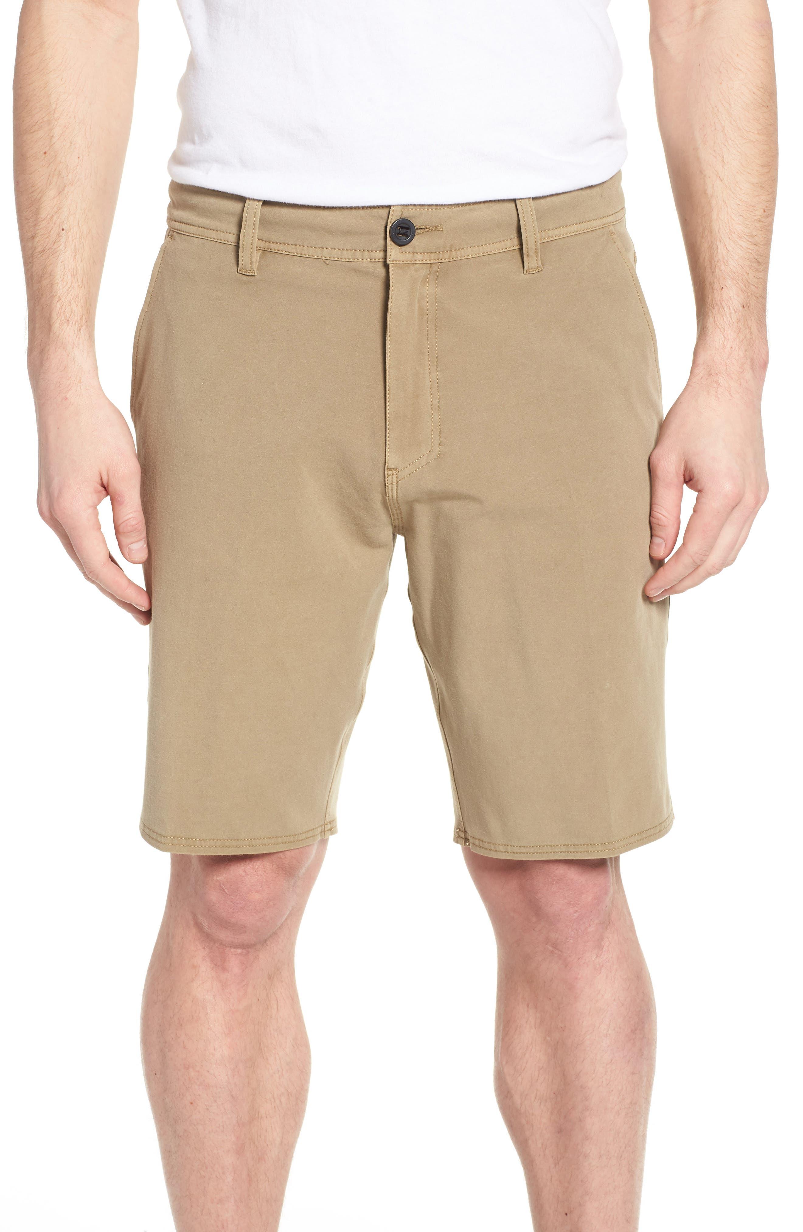 Venture Overdye Hybrid Shorts,                             Main thumbnail 1, color,                             Khaki
