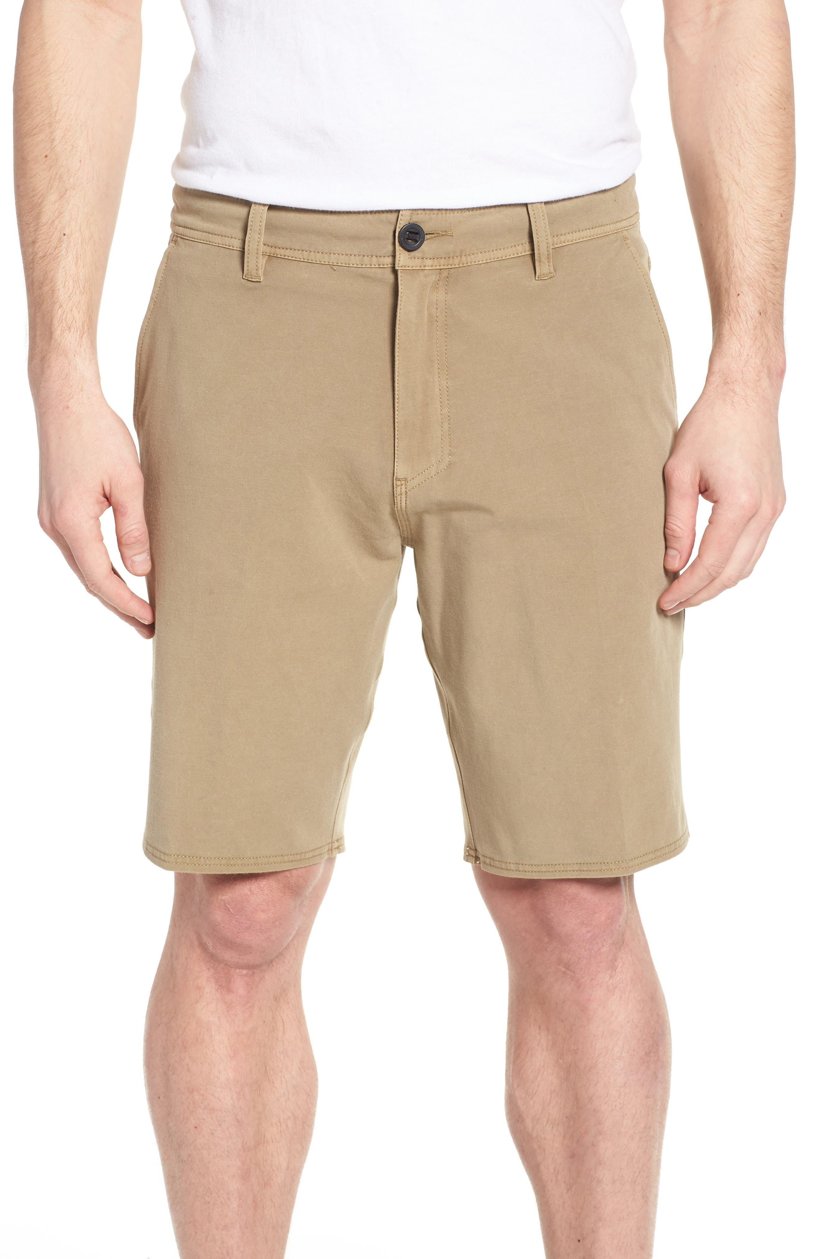 Venture Overdye Hybrid Shorts,                         Main,                         color, Khaki