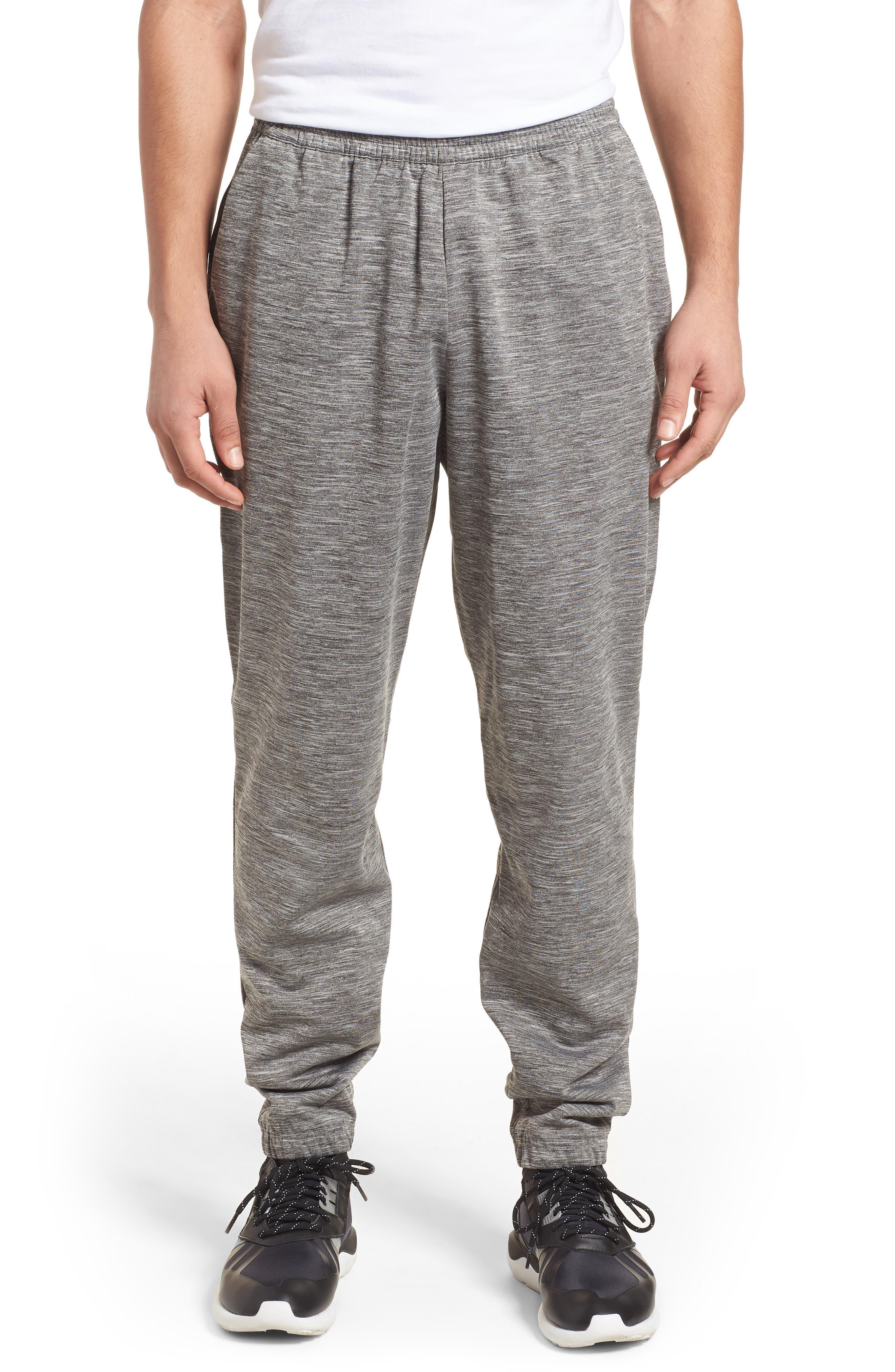 Z.N.E. Lounge Pants,                         Main,                         color, Black / Storm Heather/ Mgh