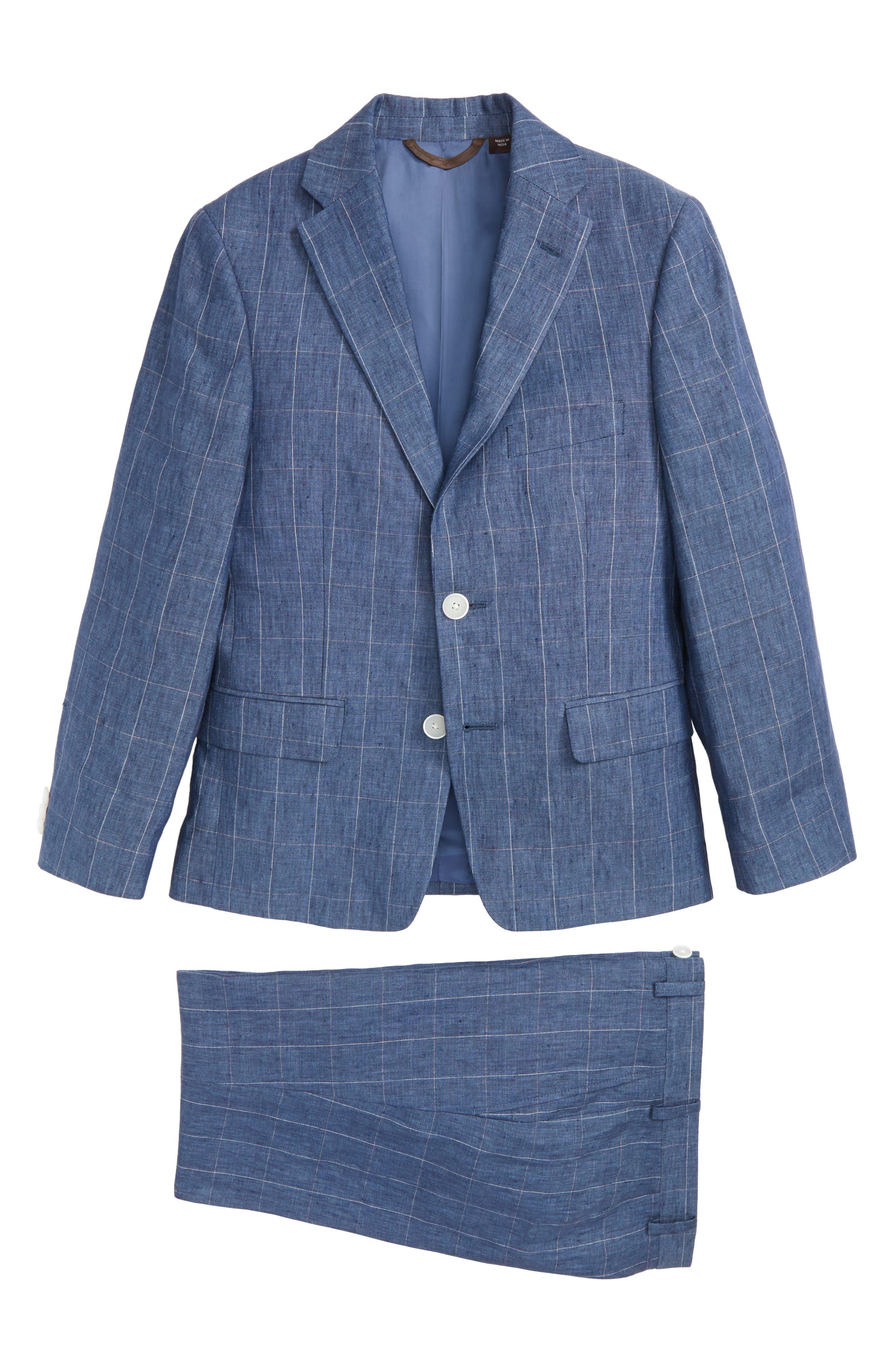 Michael Kors Collection Two-Piece Linen Suit (Big Boys)