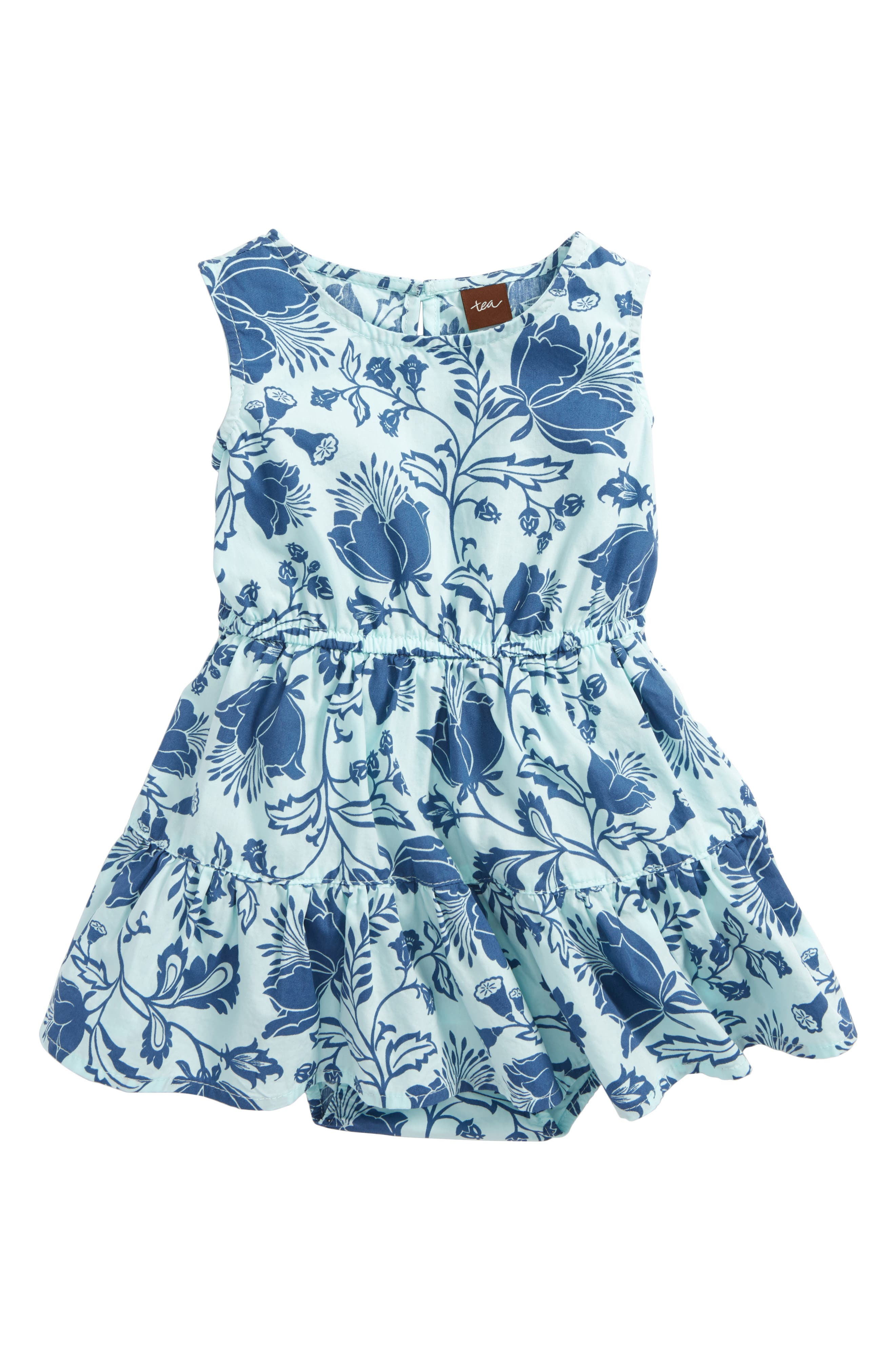 Tea Collection Floral Dress (Baby Girls)