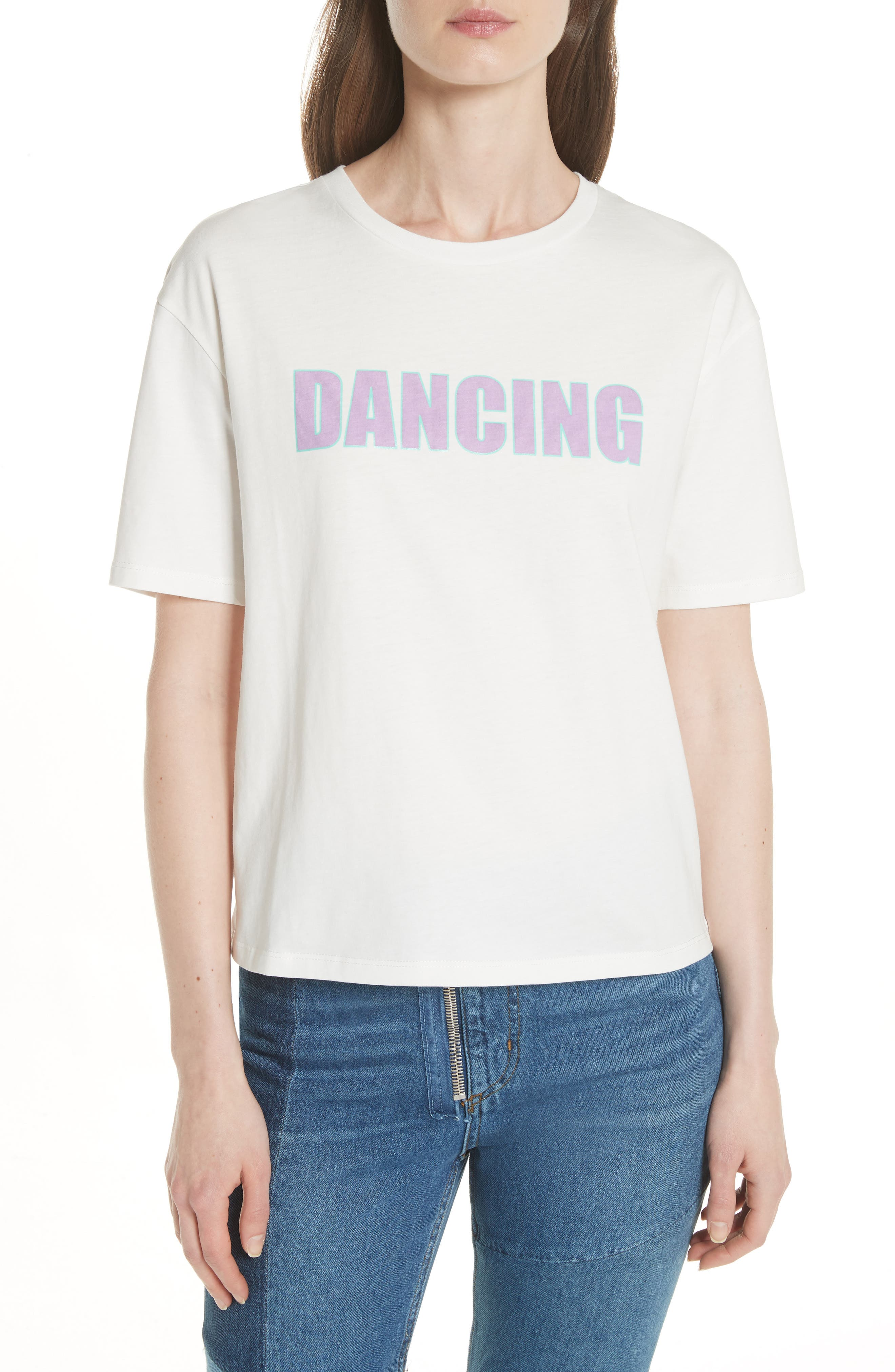 Alternate Image 1 Selected - sandro Dancing Graphic Tee