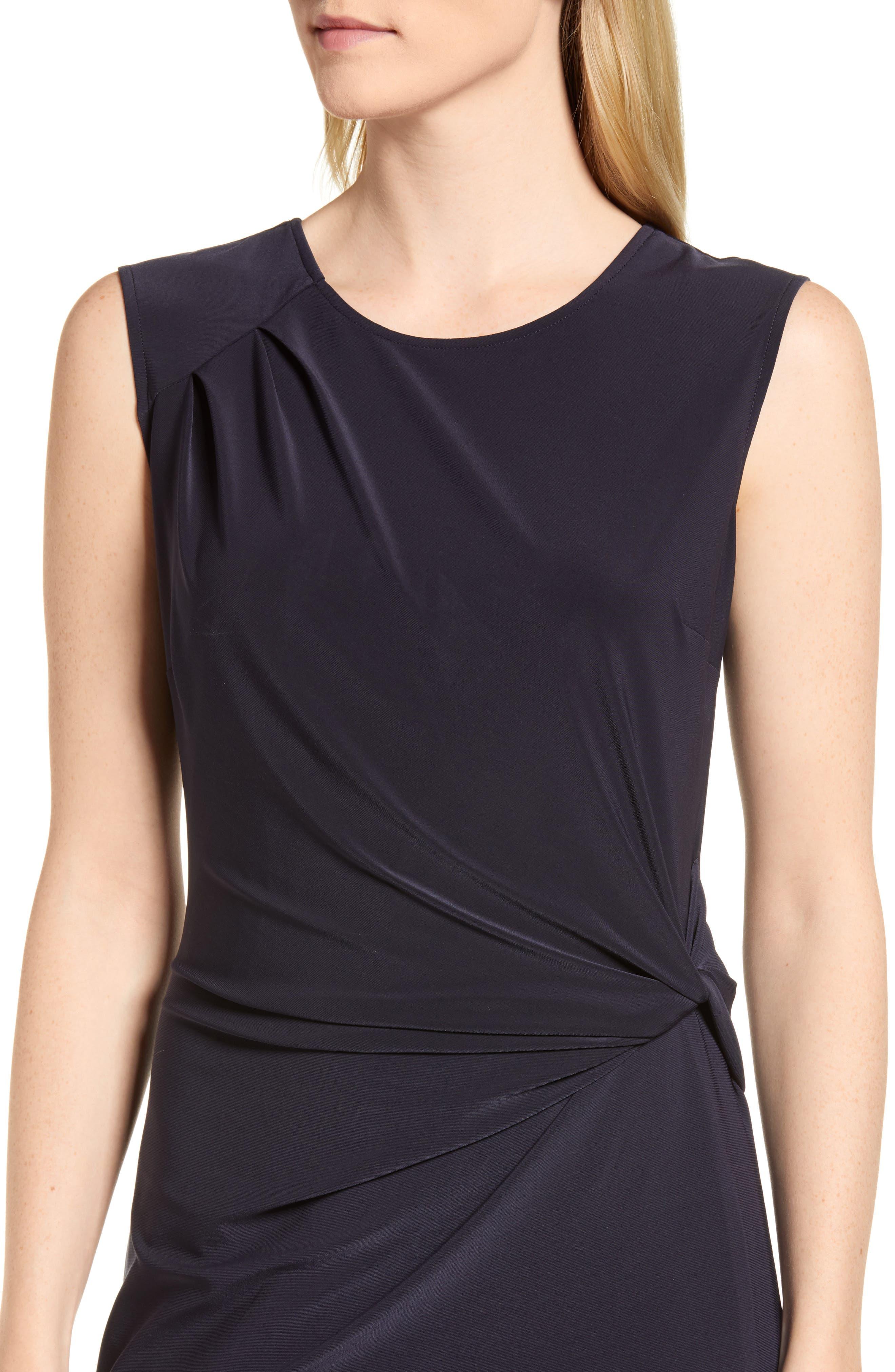 Alternate Image 4  - NIC+ZOE Twist Side Matte Jersey Dress