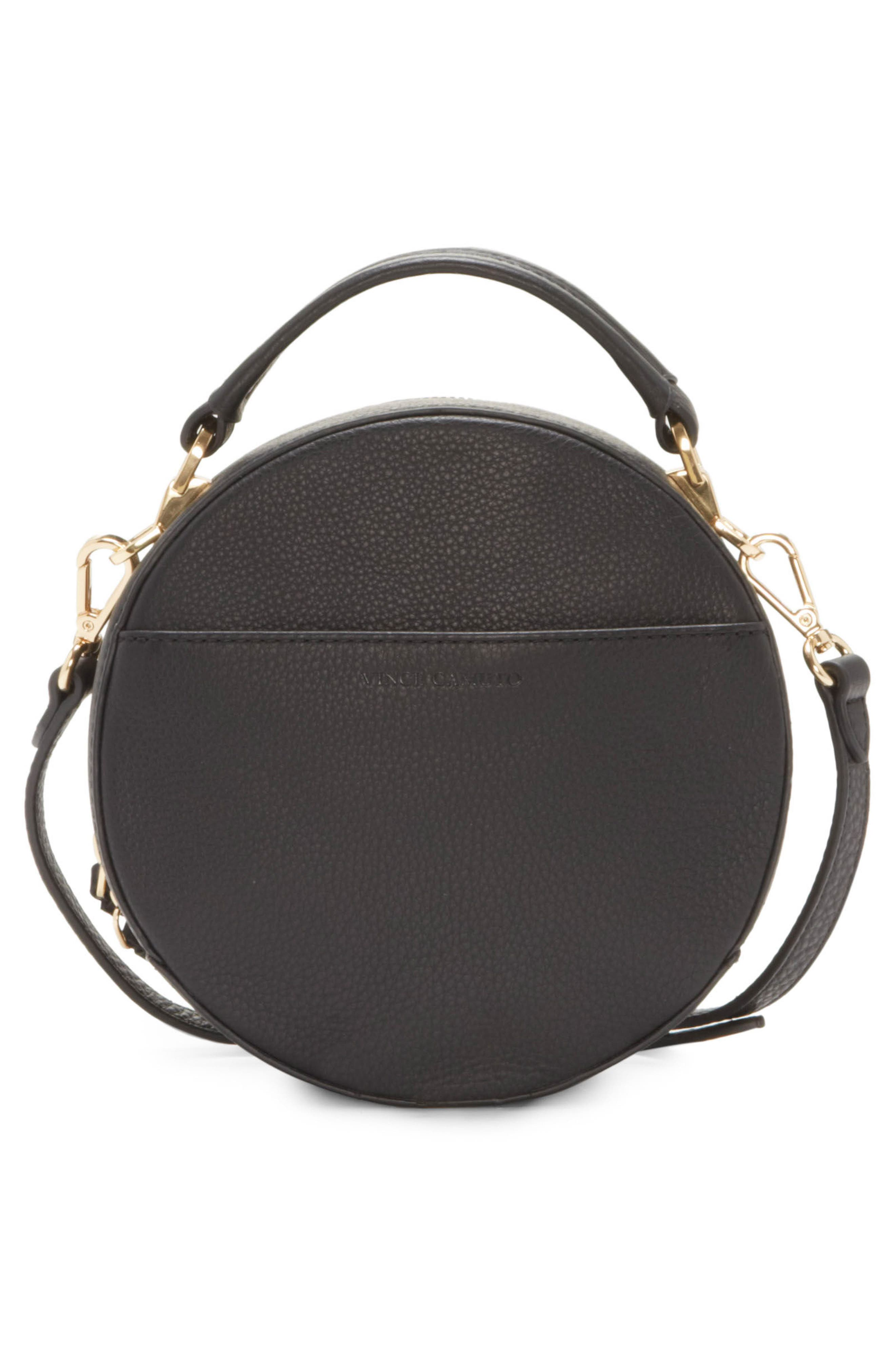 Bray Leather Crossbody Bag,                             Alternate thumbnail 2, color,                             Black