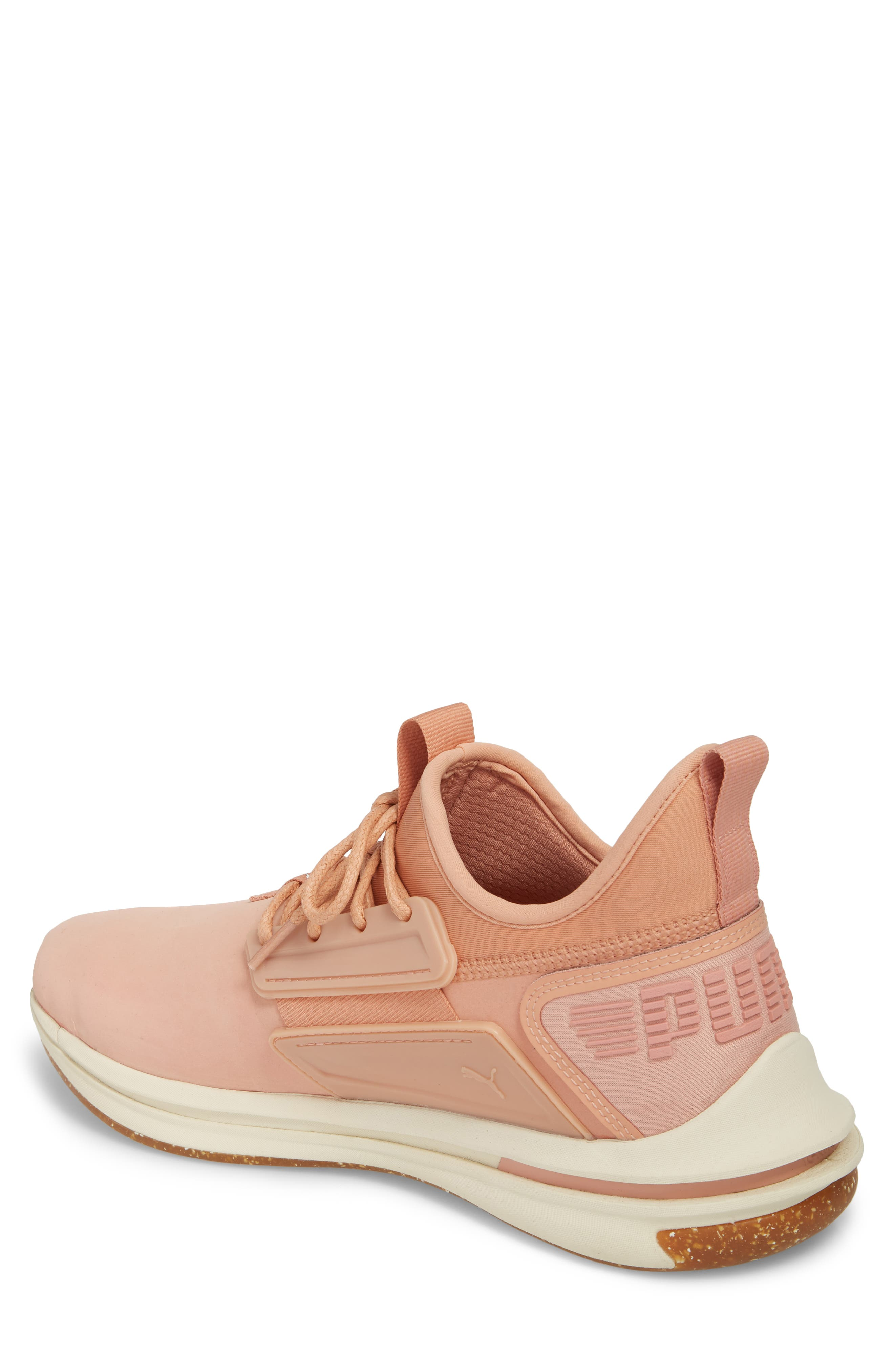 IGNITE Limitless SR Nature Sneaker,                             Alternate thumbnail 2, color,                             Muted Clay Leather/ Suede