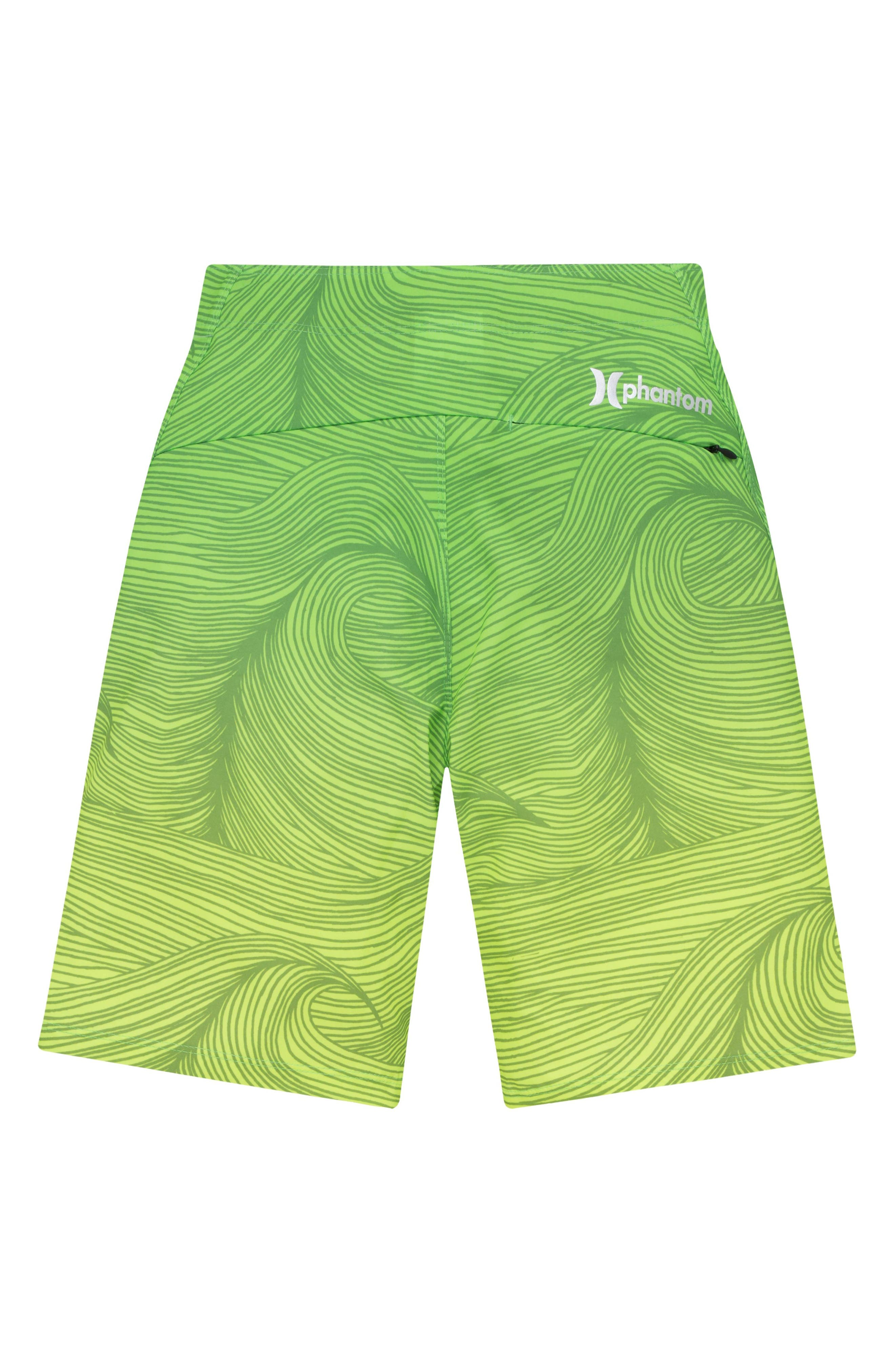 Phantom 30 Brooks Board Shorts,                             Alternate thumbnail 2, color,                             Voltage Green
