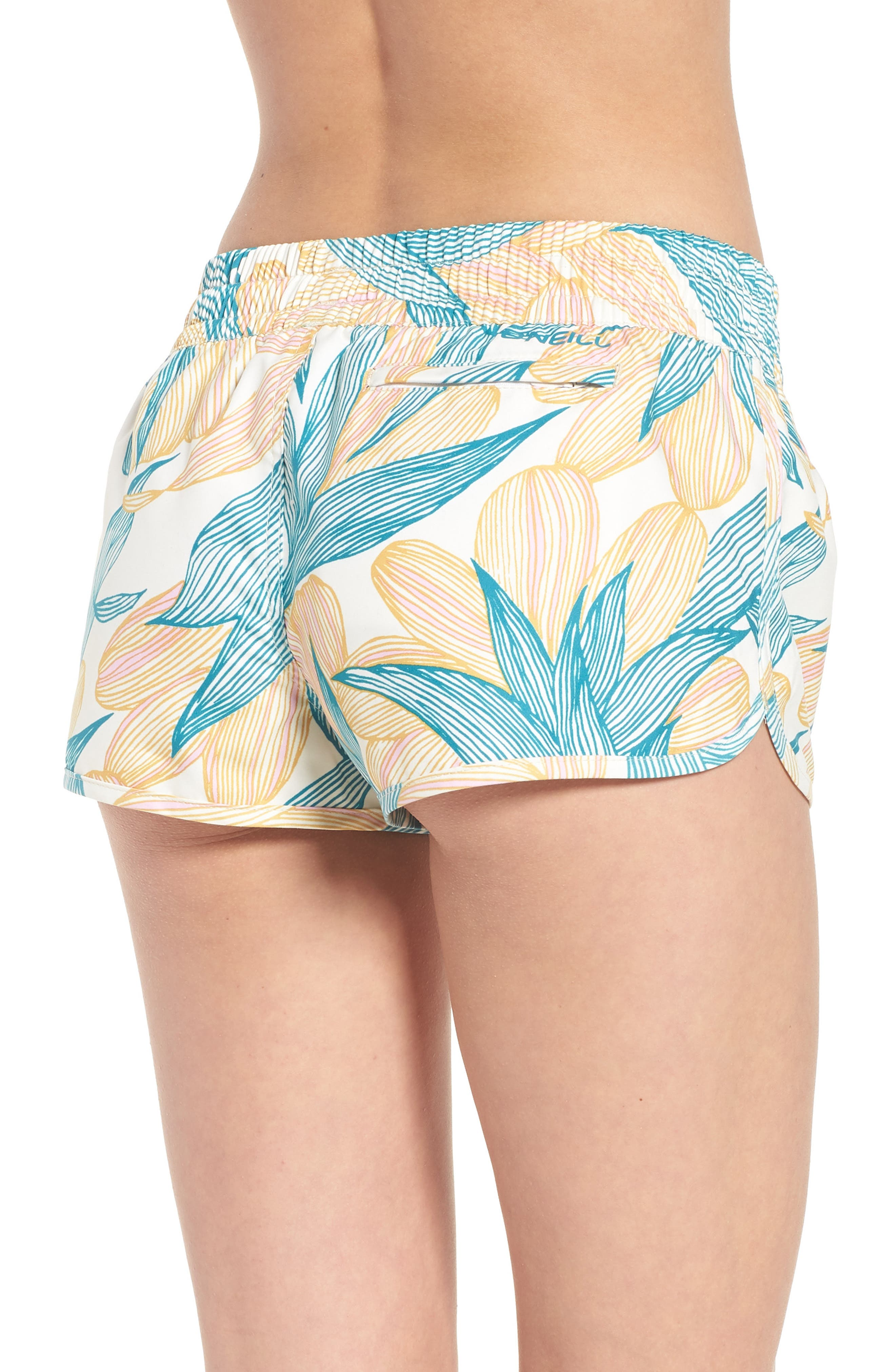 Bayside 2 Dynasuede Board Shorts,                             Alternate thumbnail 2, color,                             Island Turquoise
