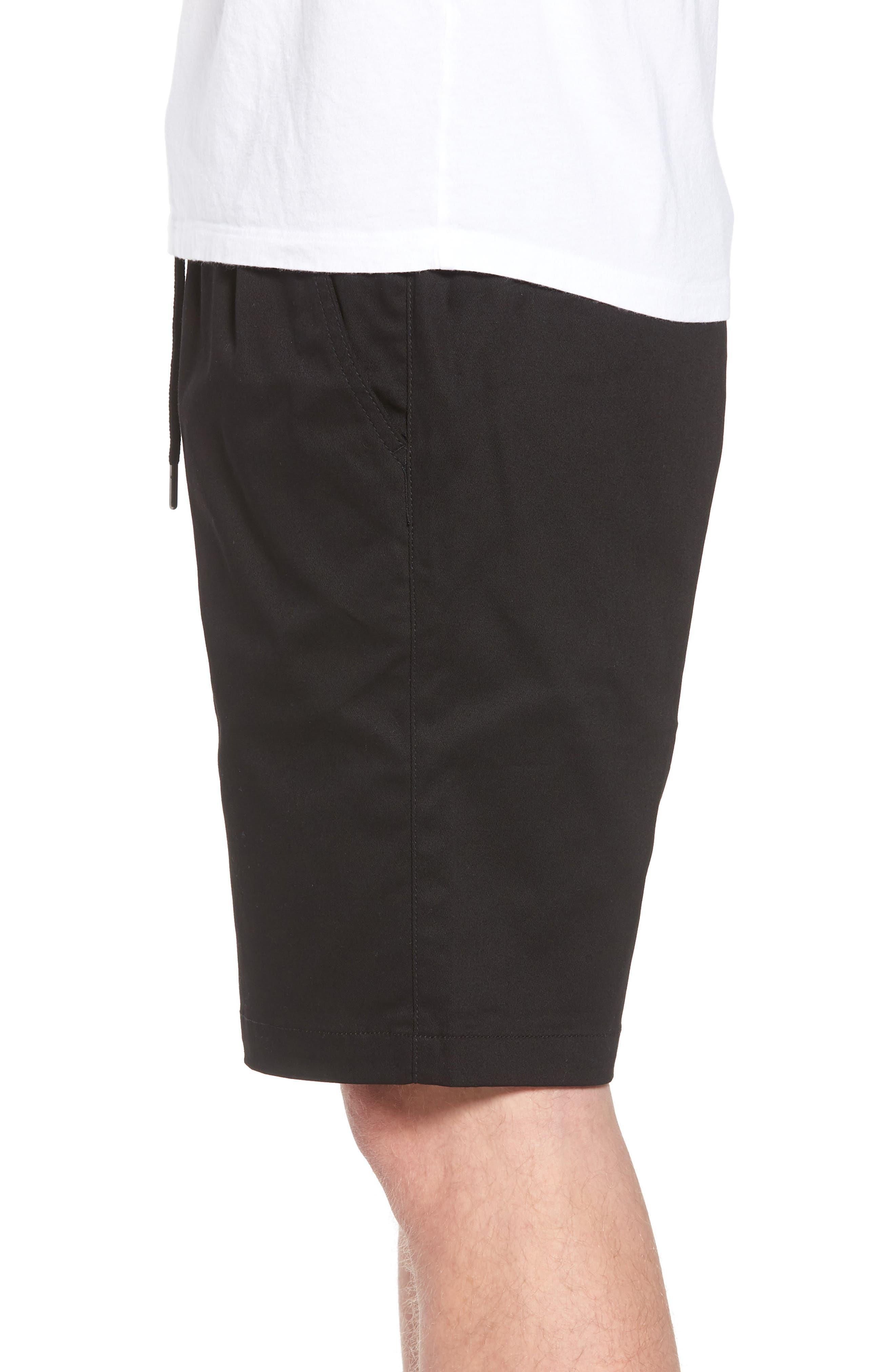 Runner Shorts,                             Alternate thumbnail 3, color,                             Black