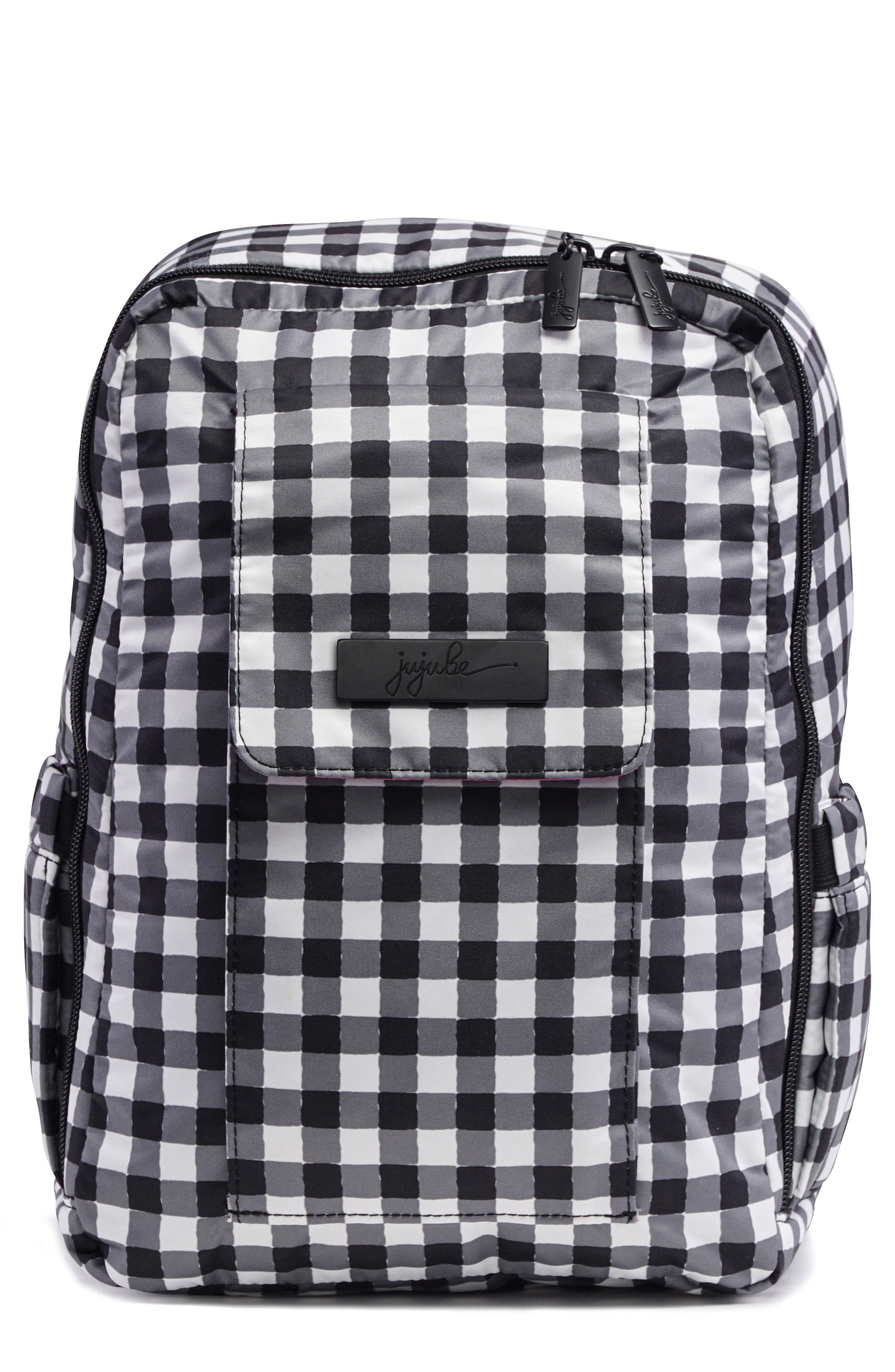 'Mini Be - Onyx Collection' Backpack,                             Main thumbnail 1, color,                             Gingham Style