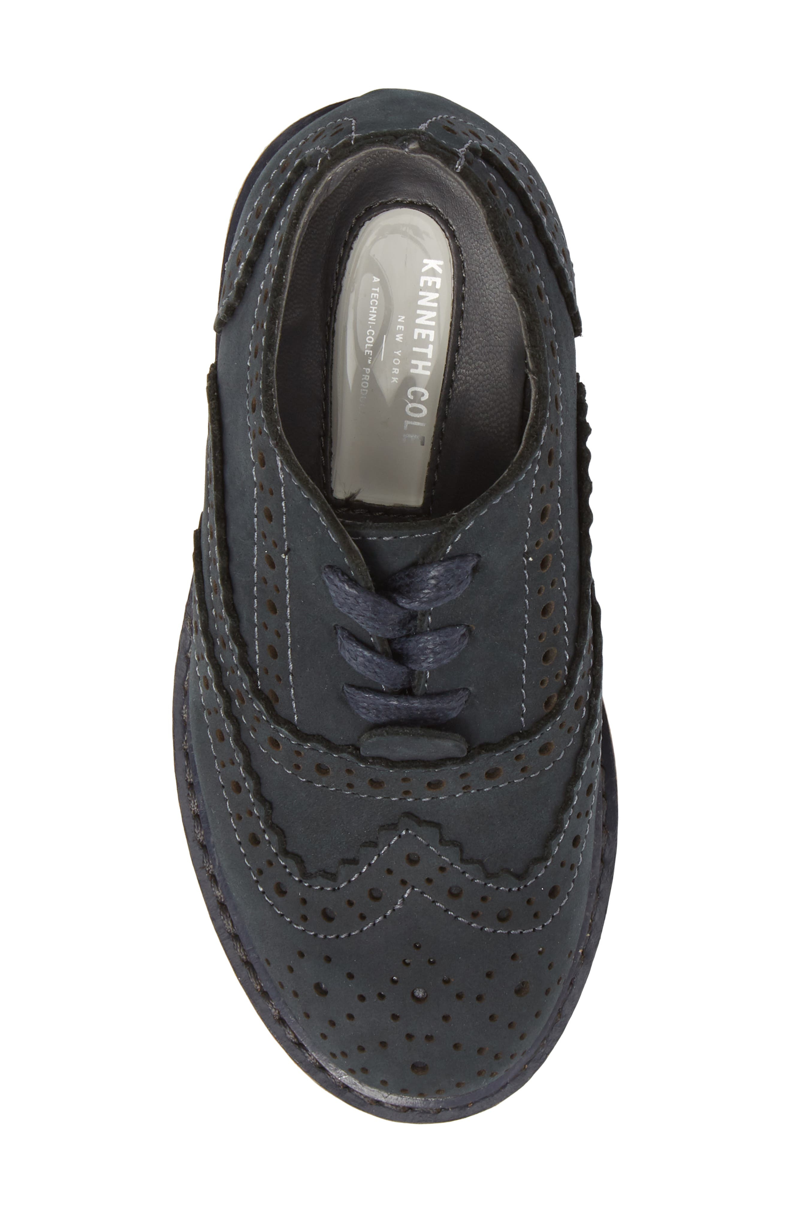Wingtip Oxford,                             Alternate thumbnail 5, color,                             Navy