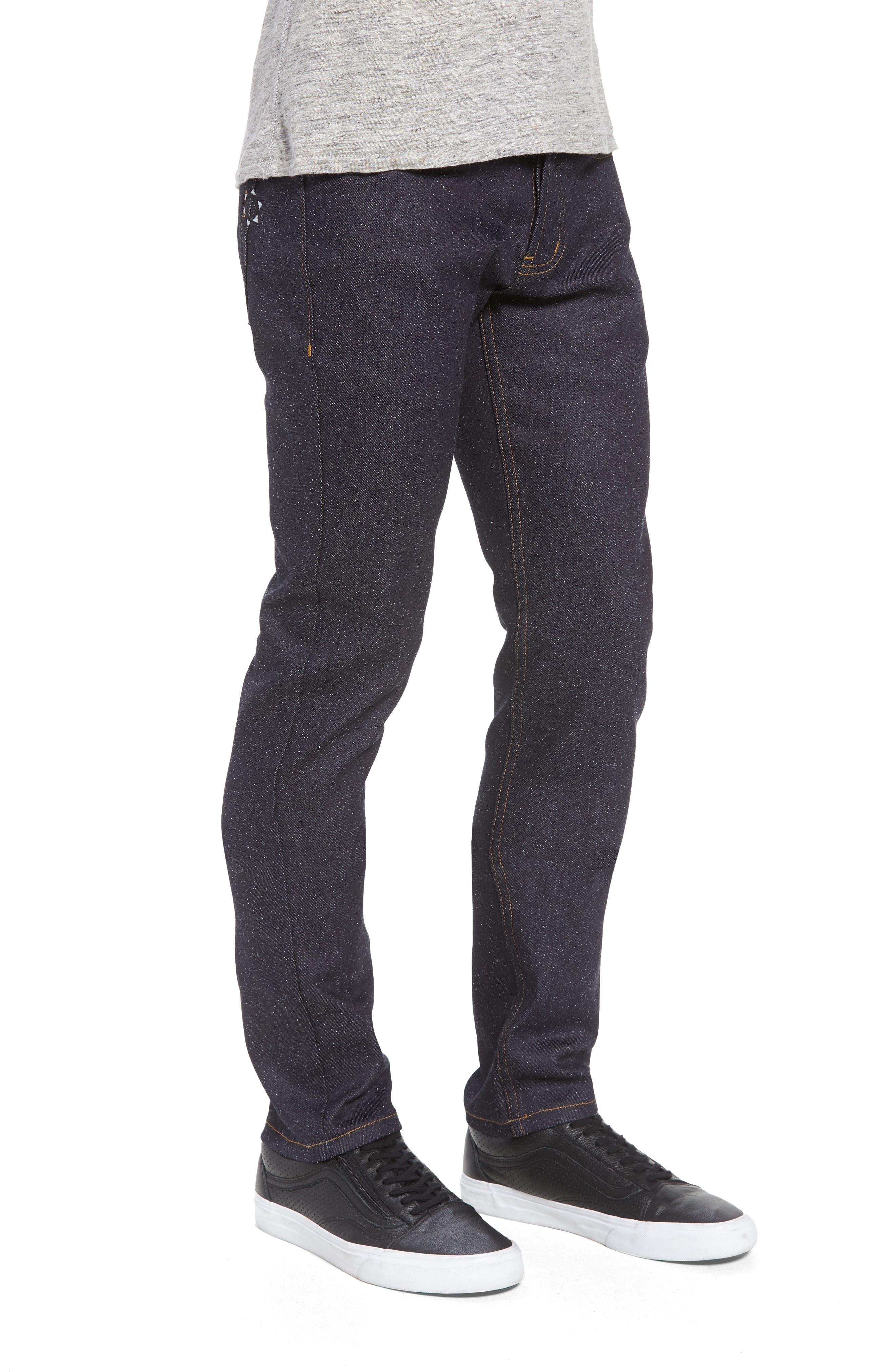 Super Skinny Guy Skinny Fit Jeans,                             Alternate thumbnail 3, color,                             Indigo