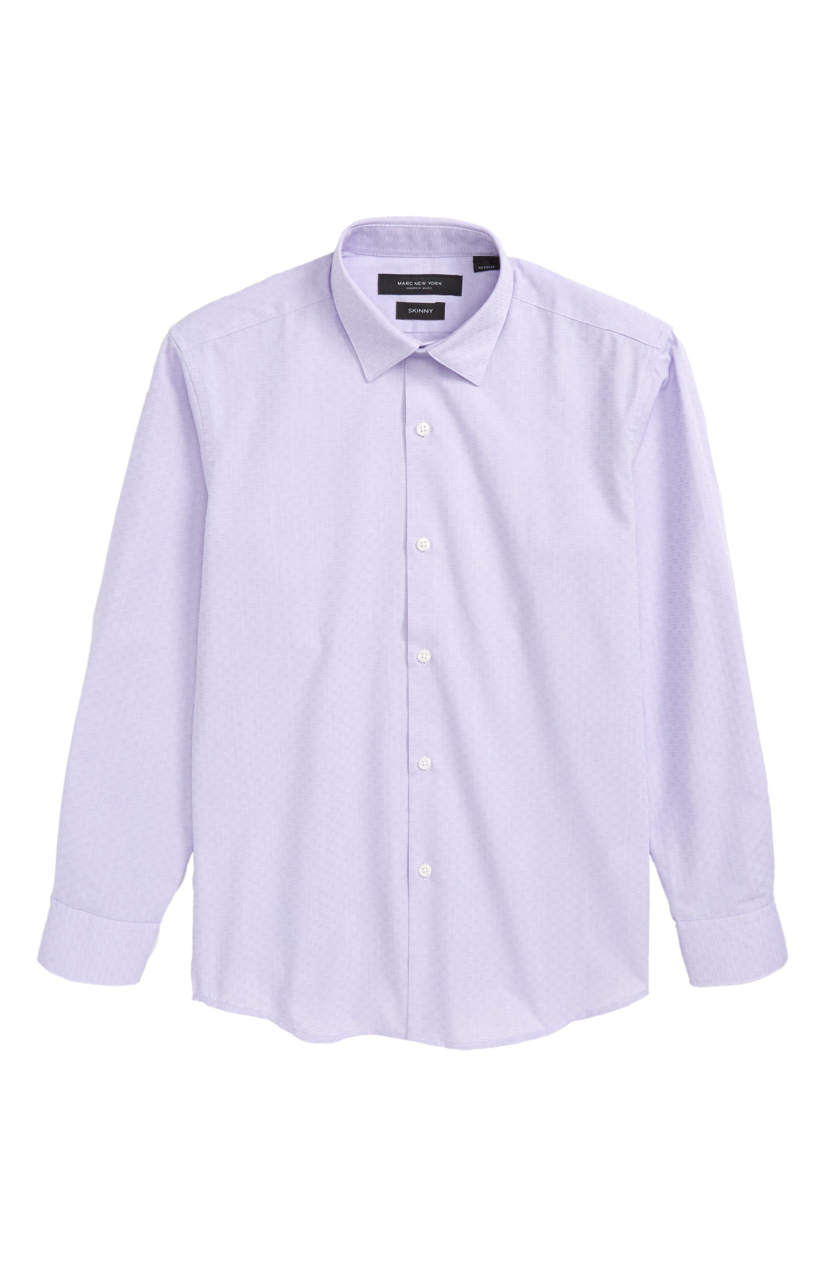 Andrew Marc Check Dress Shirt (Big Boys)