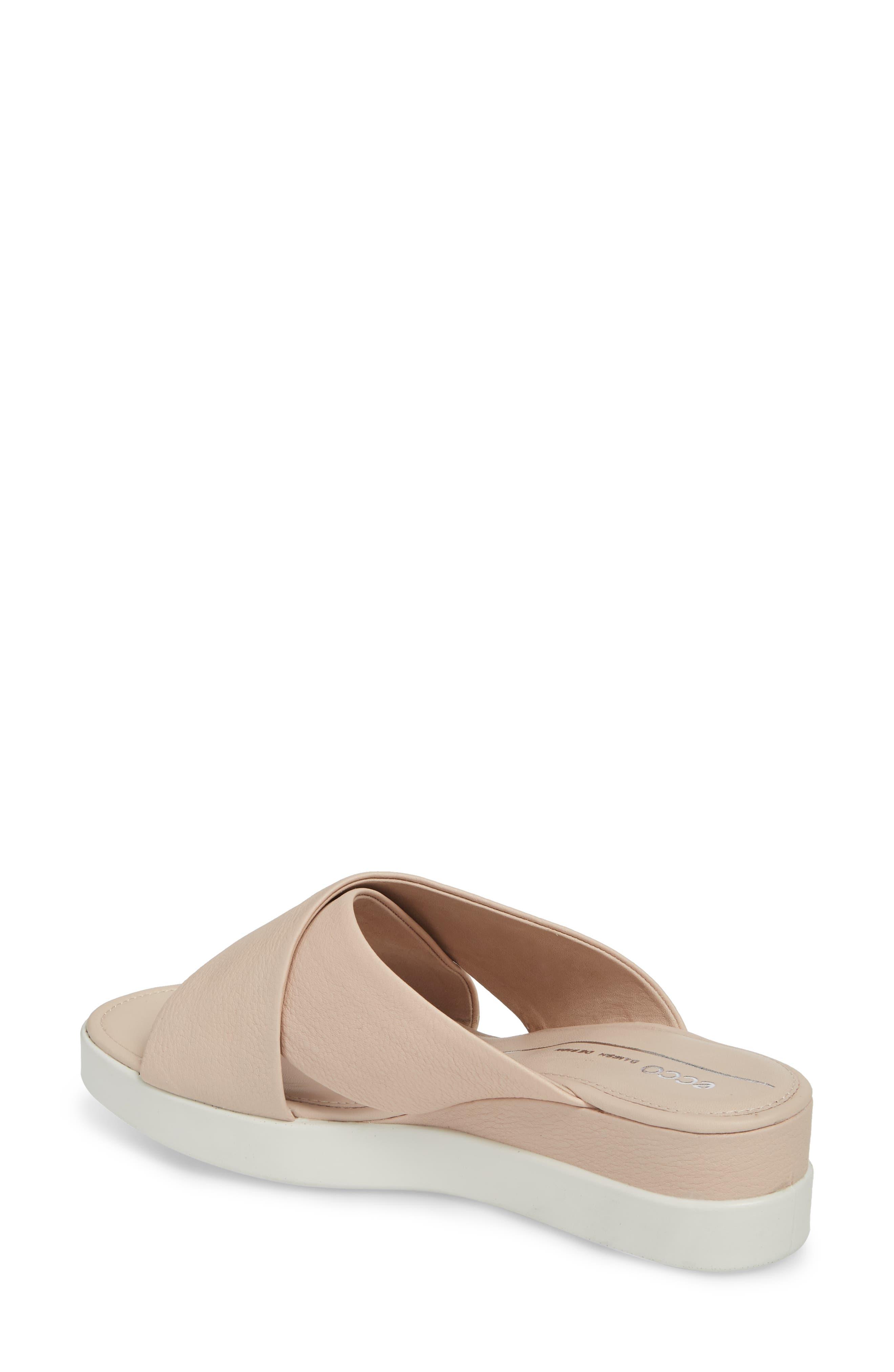 Touch Slide Sandal,                             Alternate thumbnail 2, color,                             Rose Dust Leather