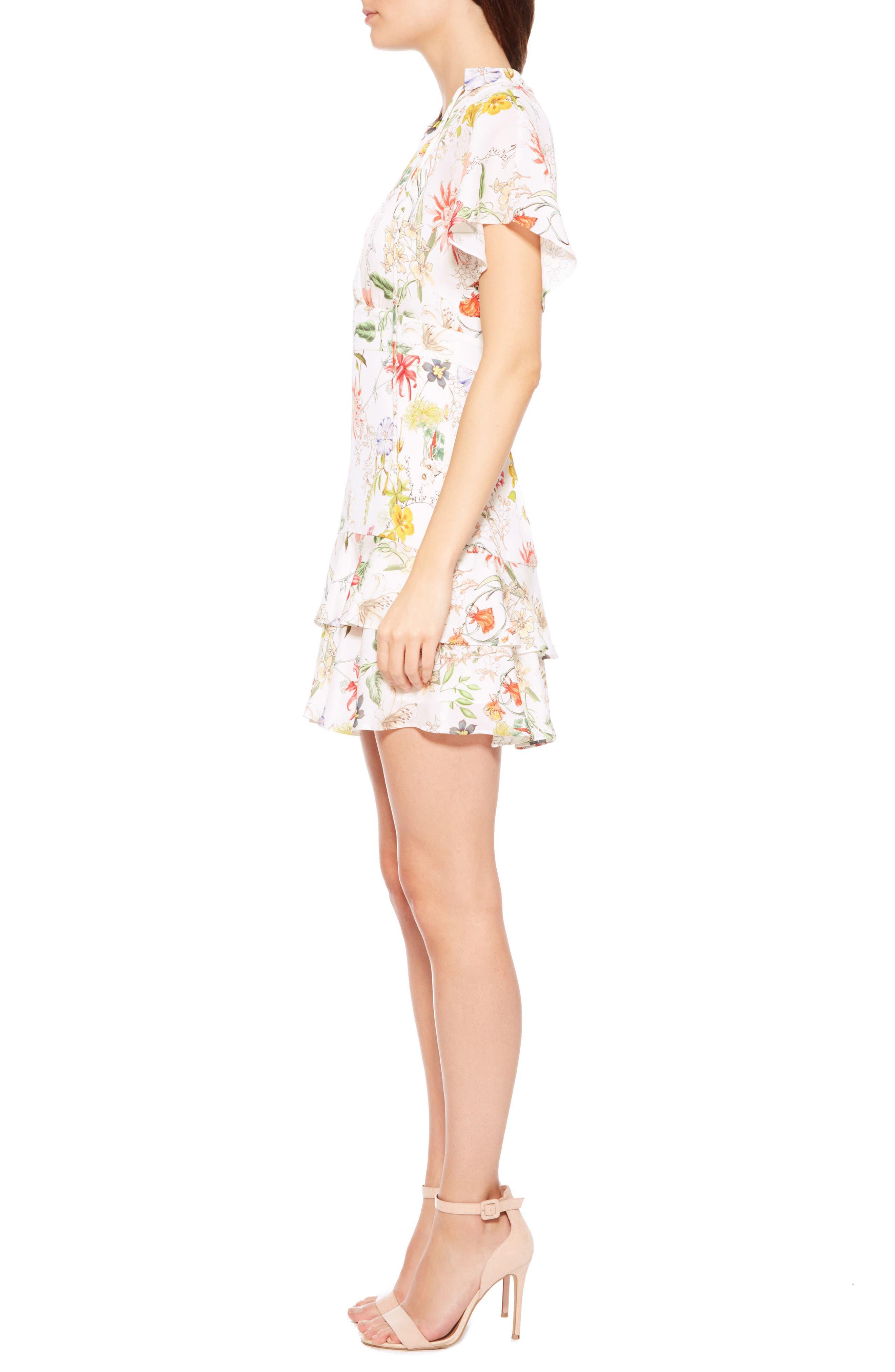 Alternate Image 3  - Parker Natalie Floral Silk Dress