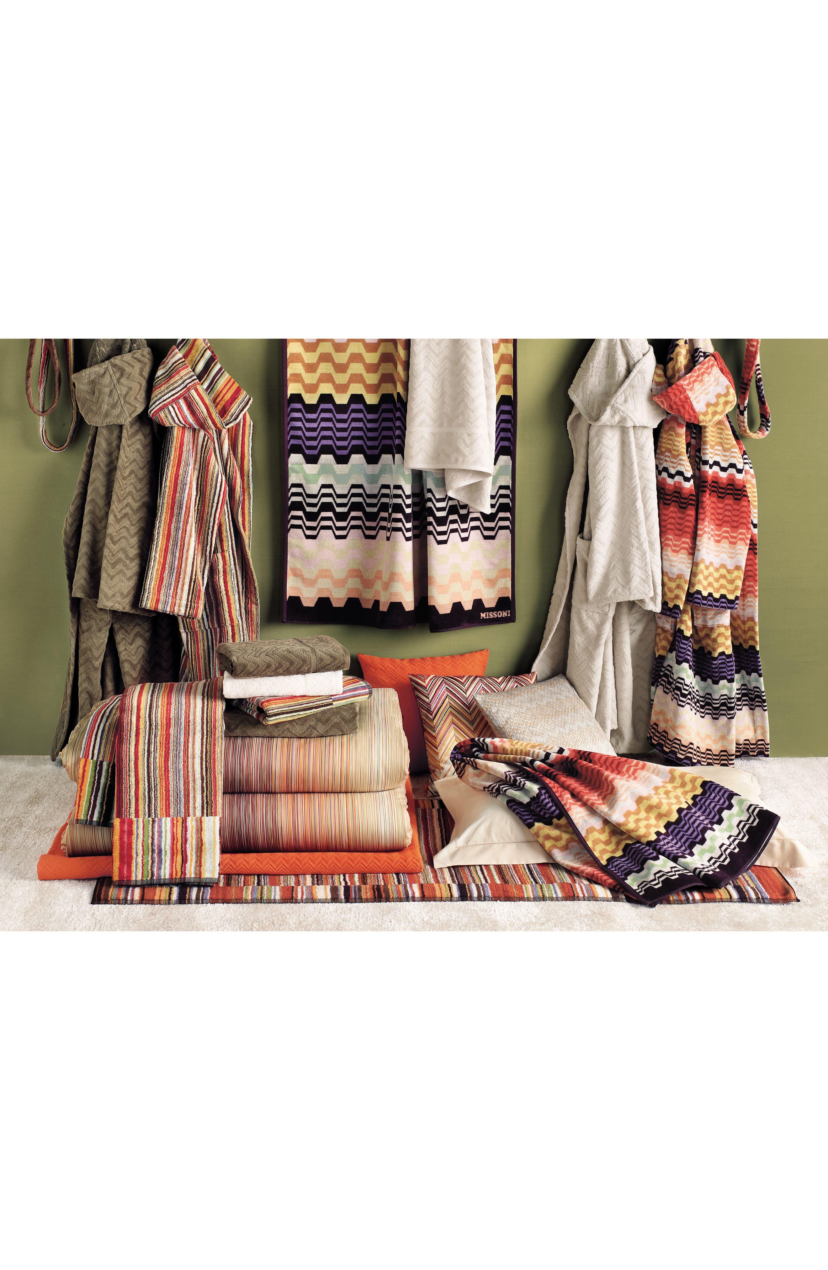Lara Beach Towel,                             Alternate thumbnail 3, color,                             Multi Bright