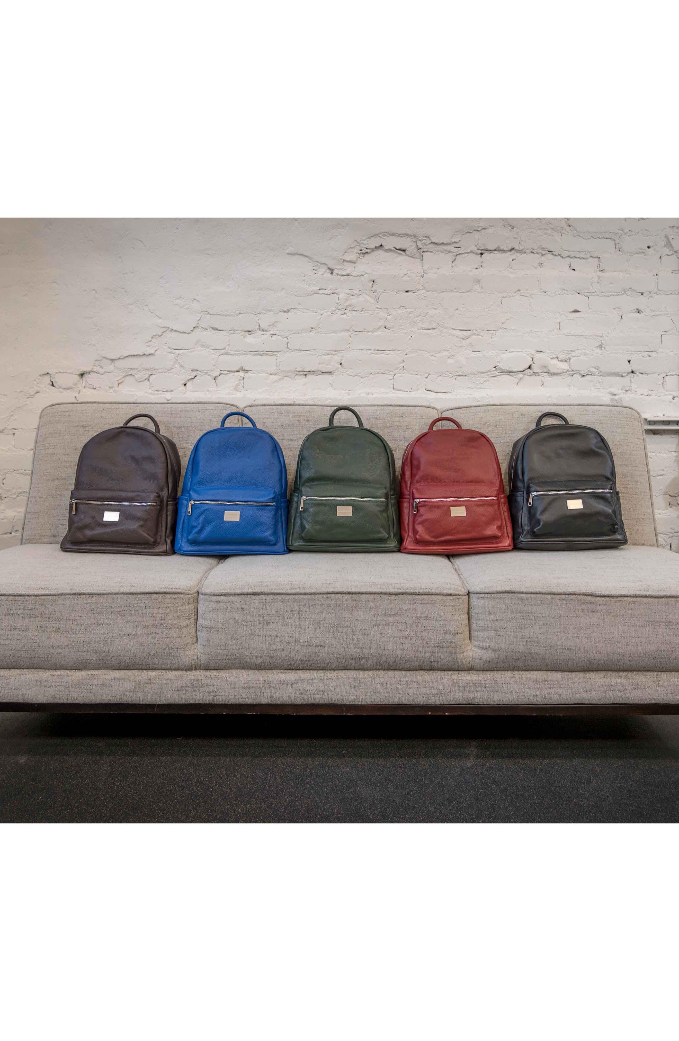 Alternate Image 7  - MONTEZEMOLO Leather Backpack