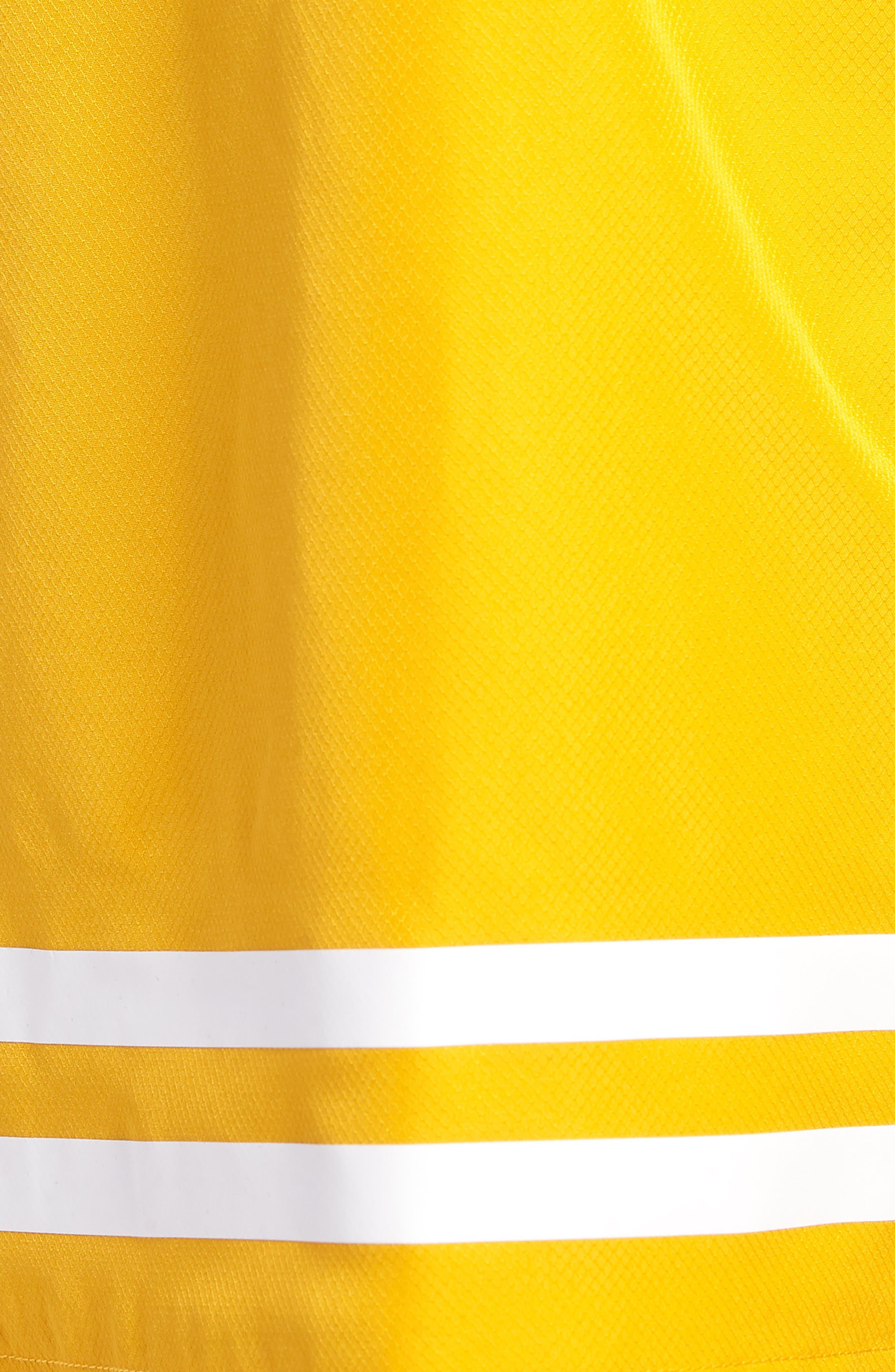 Stripe Shorts,                             Alternate thumbnail 4, color,                             Buttercup/ White