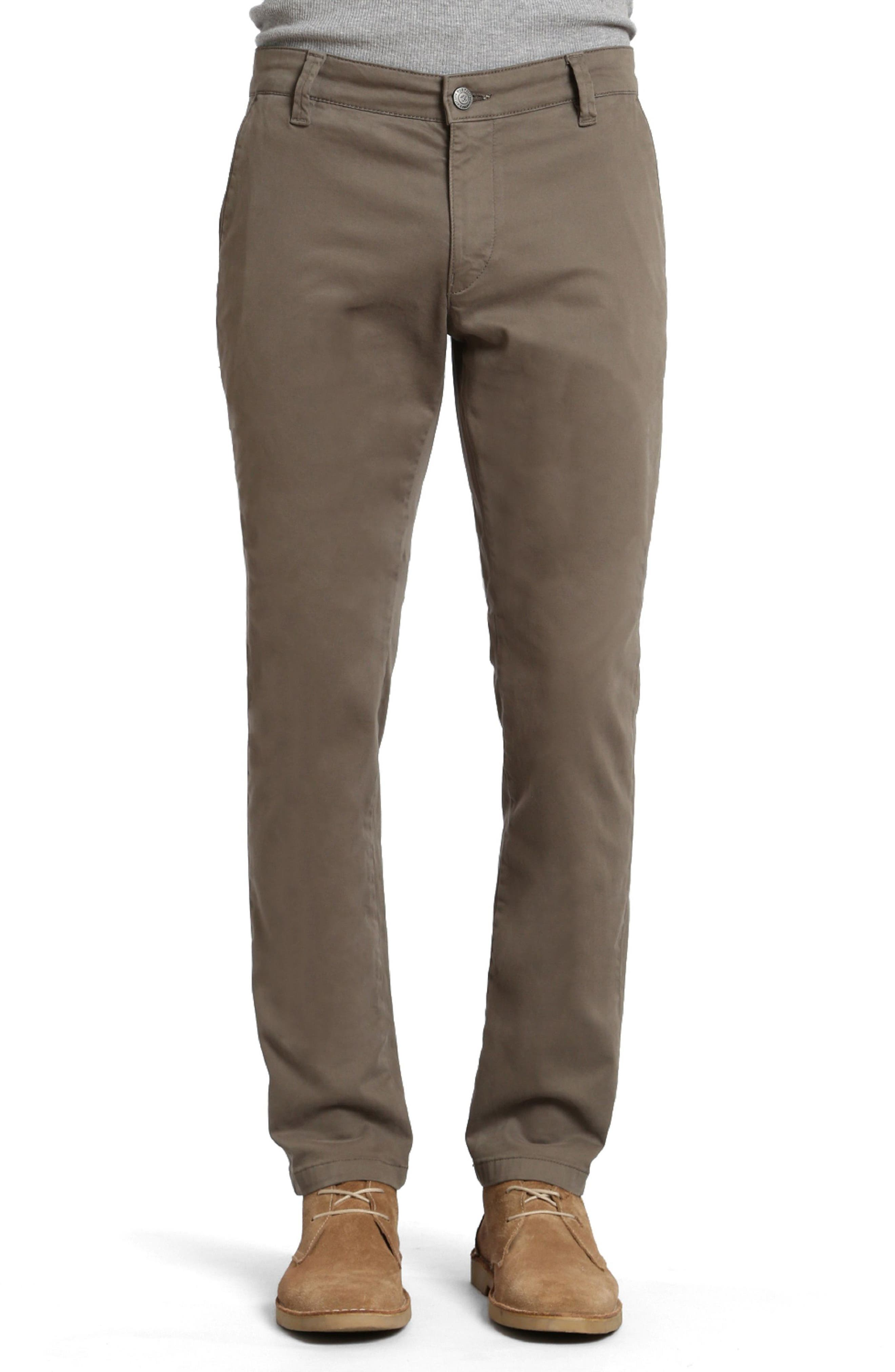 Johnny Twill Pants,                         Main,                         color, Dusty Olive Twill